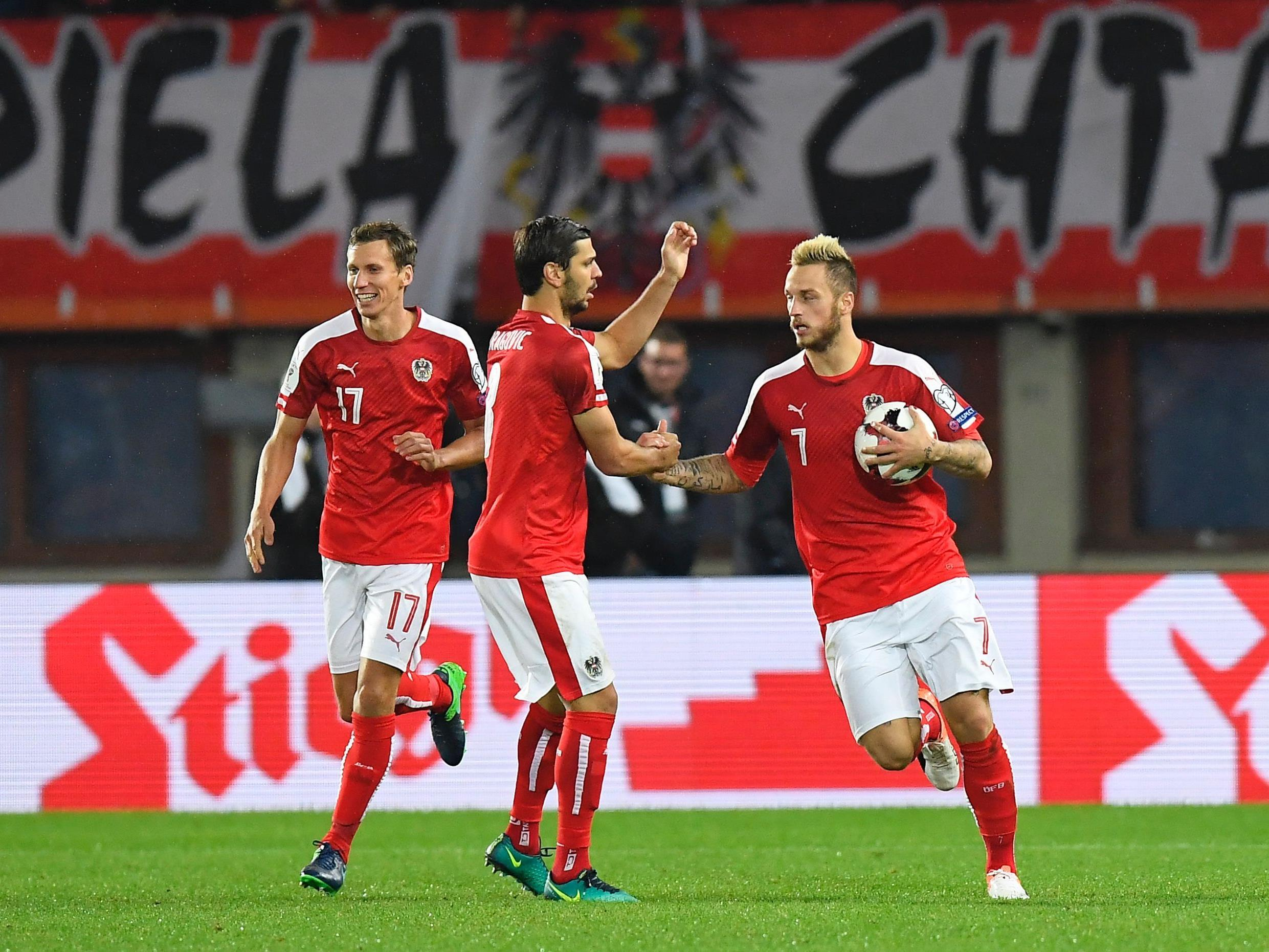 Österreich spielt am Freitag in Wien gegen Moldawien.