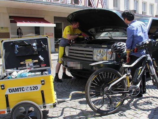 Ein Anwendungsgebiet für Lastenfahrräder