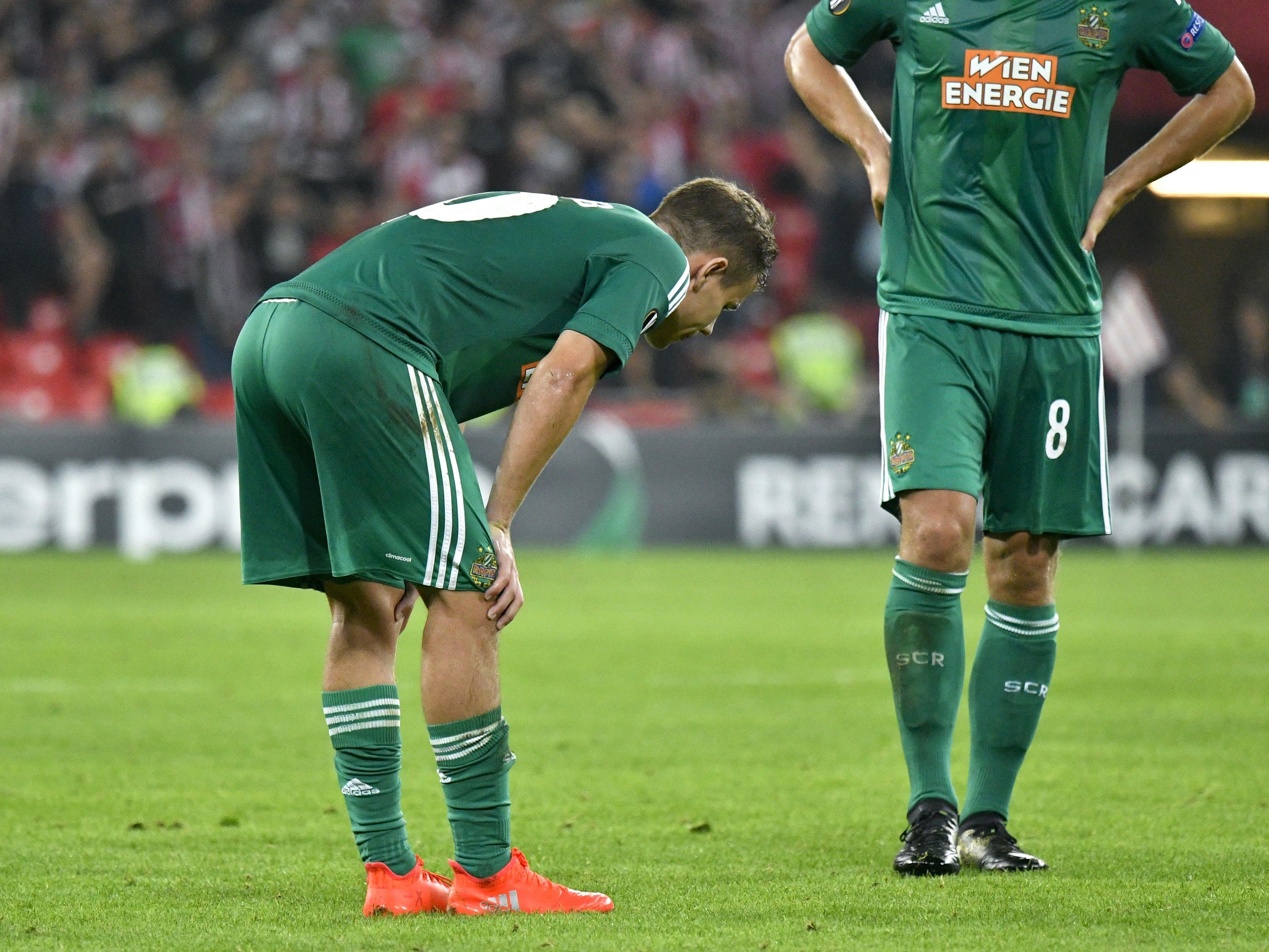 Rapid spielte gegen Salzburg gut, ging aber trotzdem als Verlierer vom Platz