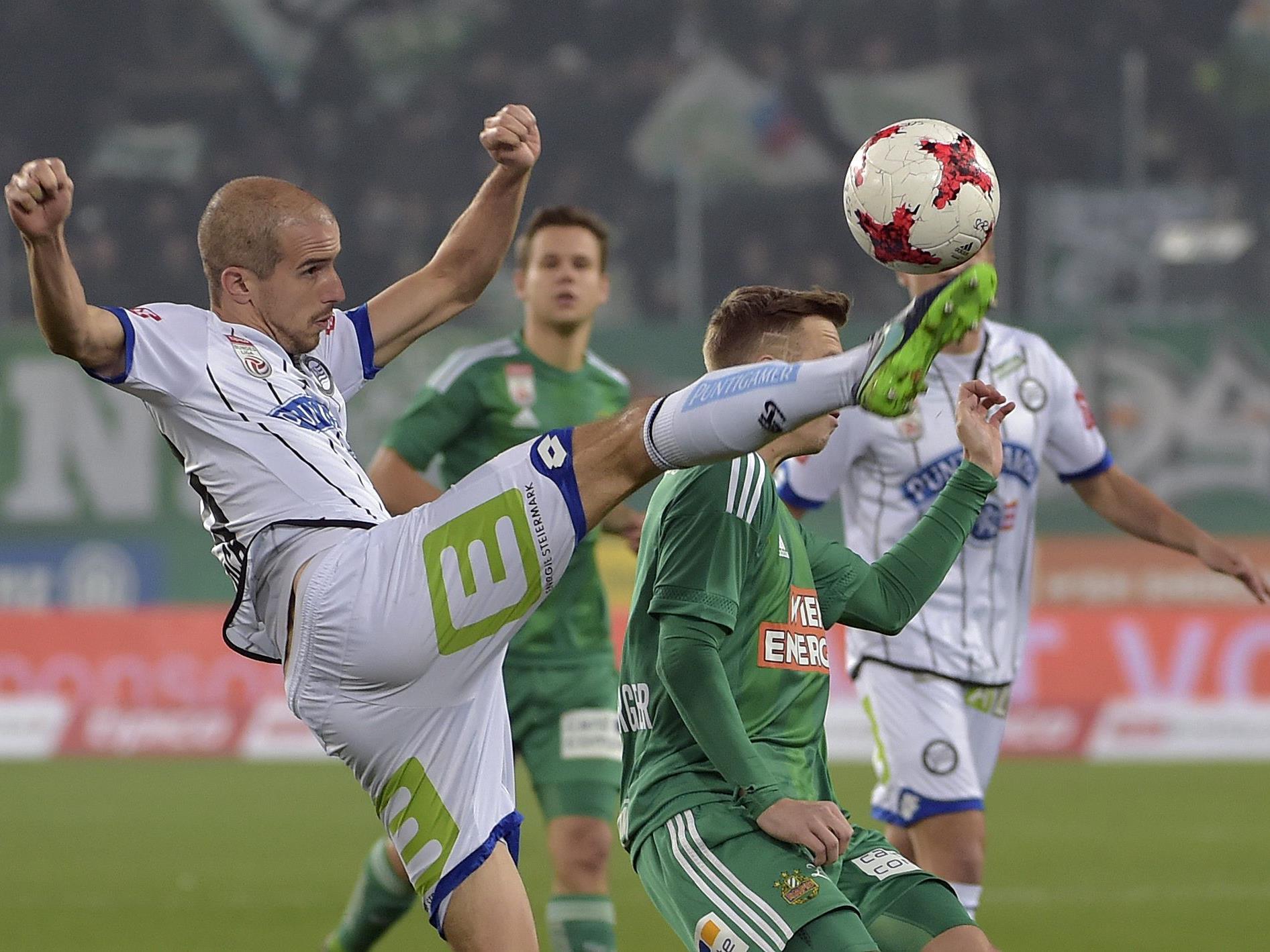 Sturm Graz empfängt Rapid im Sonntagsspiel der 25. Runde.
