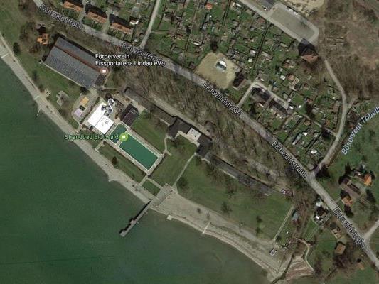 Die Stadt Lindau plant einen Neubau der therme. Eine Bürgerinitiative wehrt sich.