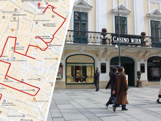 Der Spaziergang um die Kärntner Straße eignet sich für Touristen & Wiener.