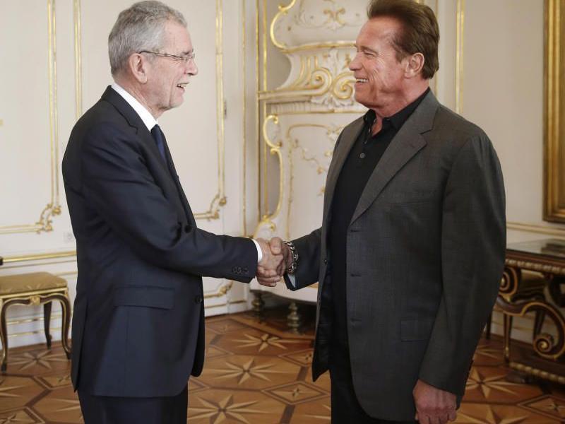 Eine Initiative von Arnold Schwarzeneggers unter Ehrenschutz von Van der Bellen.