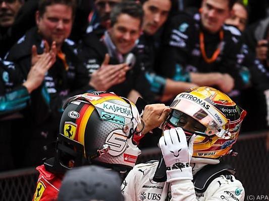 Vettel und Hamilton respektieren einander enorm
