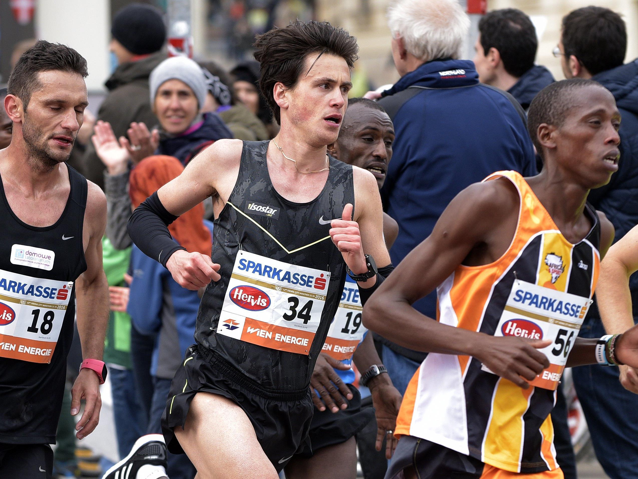 Diese österreichischen Läufer bestreiten den Vienna City Marathon 2017.