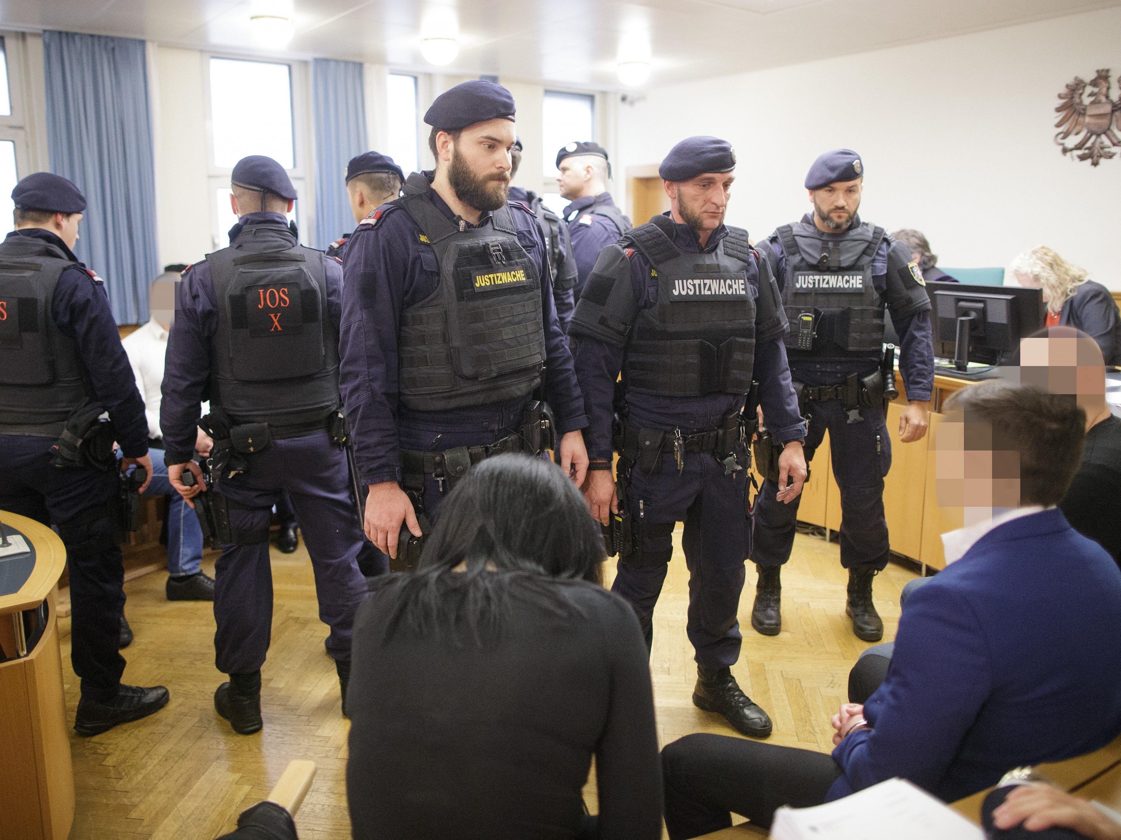Der Wiener mafiaprozess ging am Donnerstag mit Schuldsprüchen zu Ende.