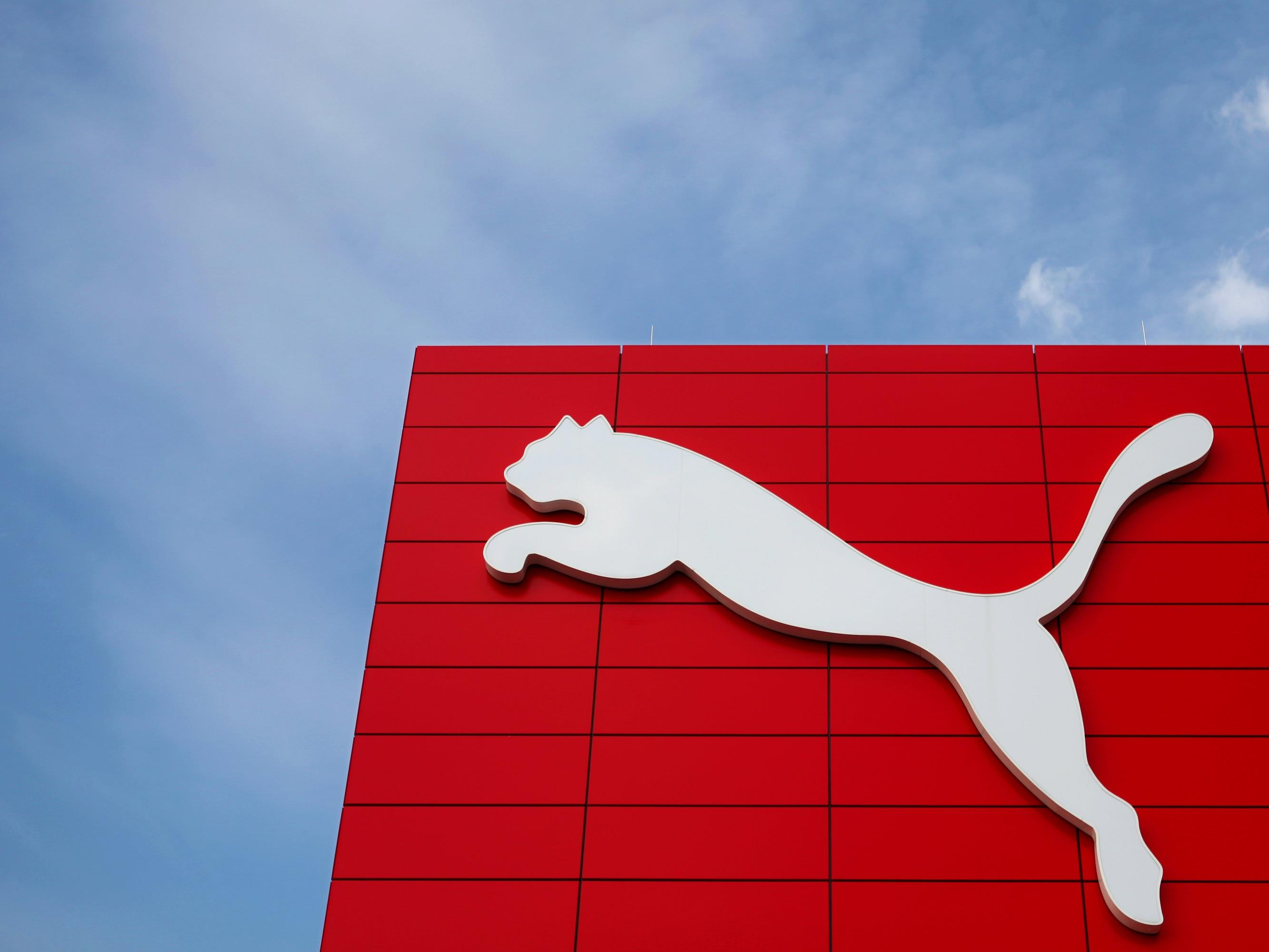 Pumas Sitz in Herzogenaurach in Bayern.