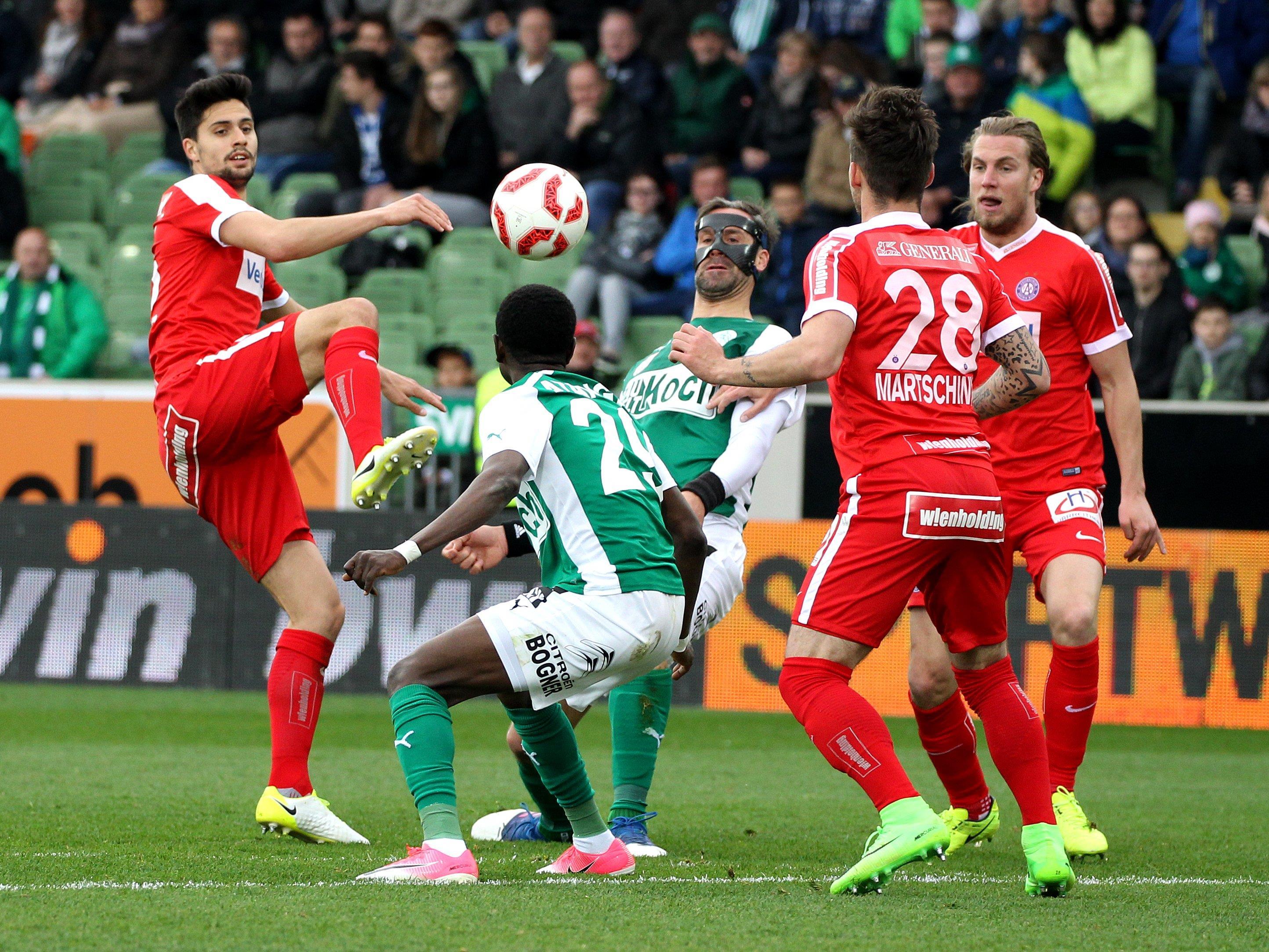 Die Wiener Austria siegte gegen Mattersburg mit 3:0.
