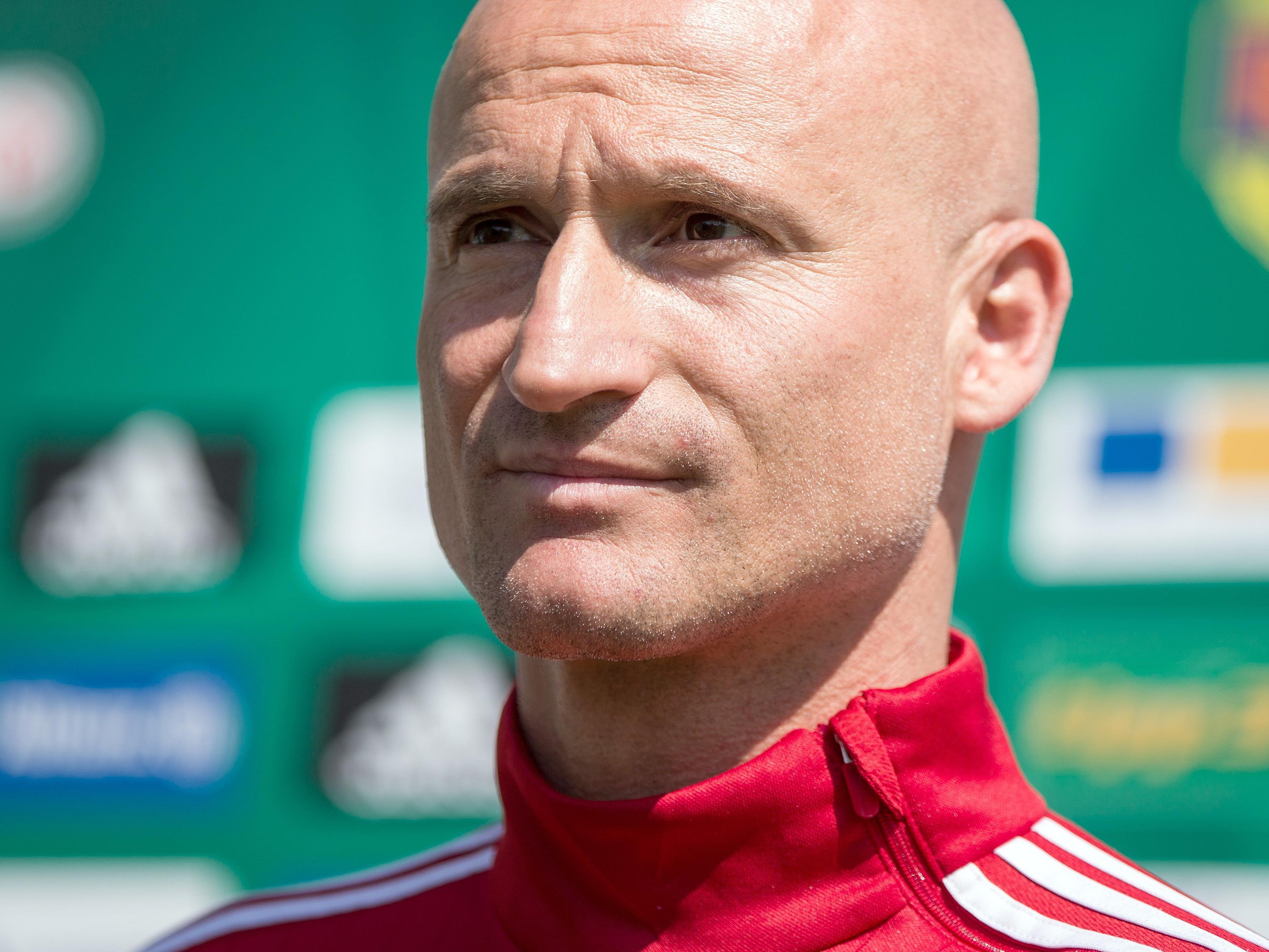 Der neue interimistische Rapid-Trainer Goran Djuricin