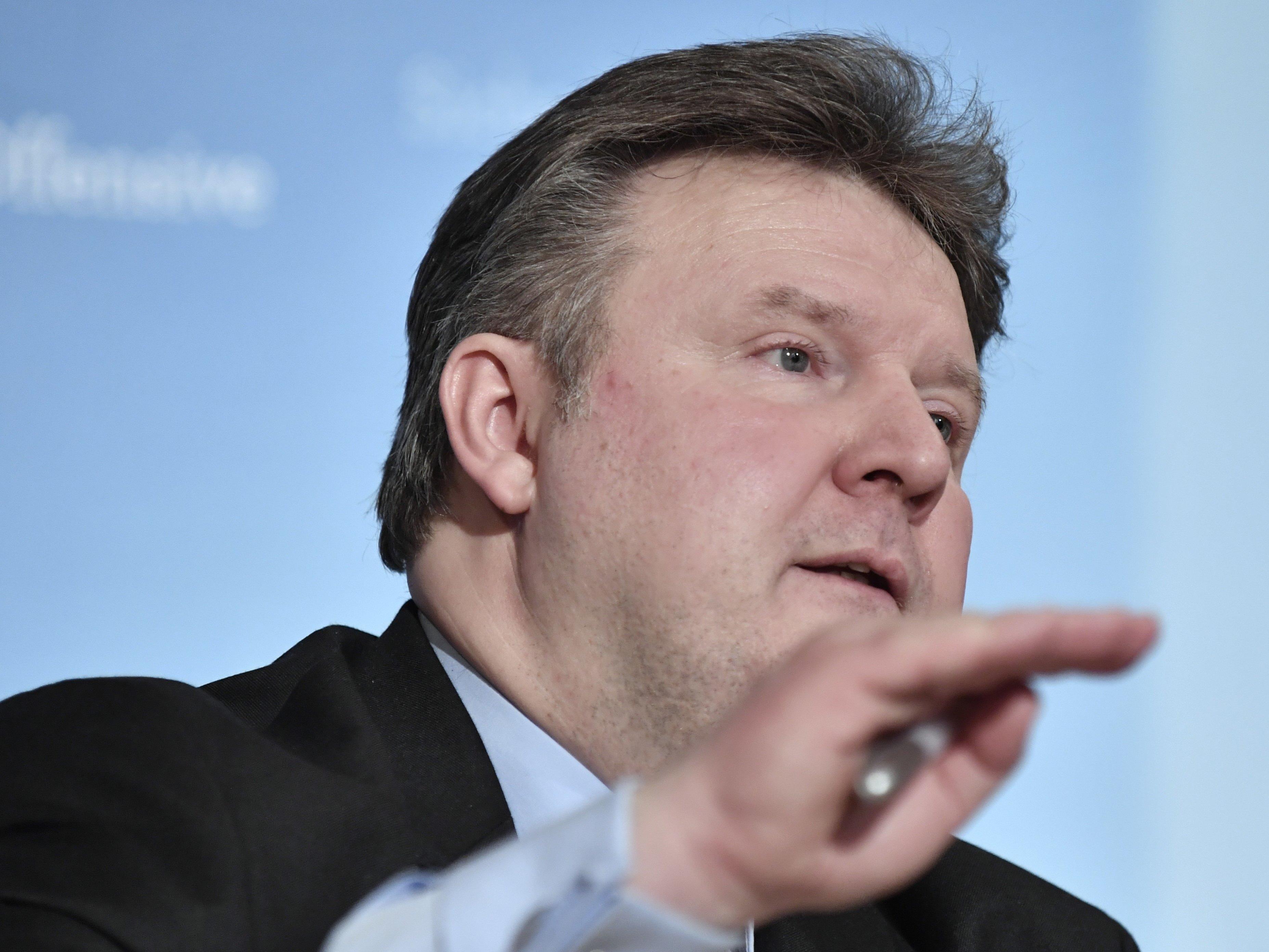 Wohnbaustadtrat Michael Ludwig präsentierte erste Details zur IBA.