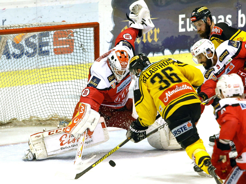 Das Finalspiel zwischen dem KAC und den Vienna Capitals gibt's am Freitag auch im Public Viewing in der Schultz-Halle zu sehen.