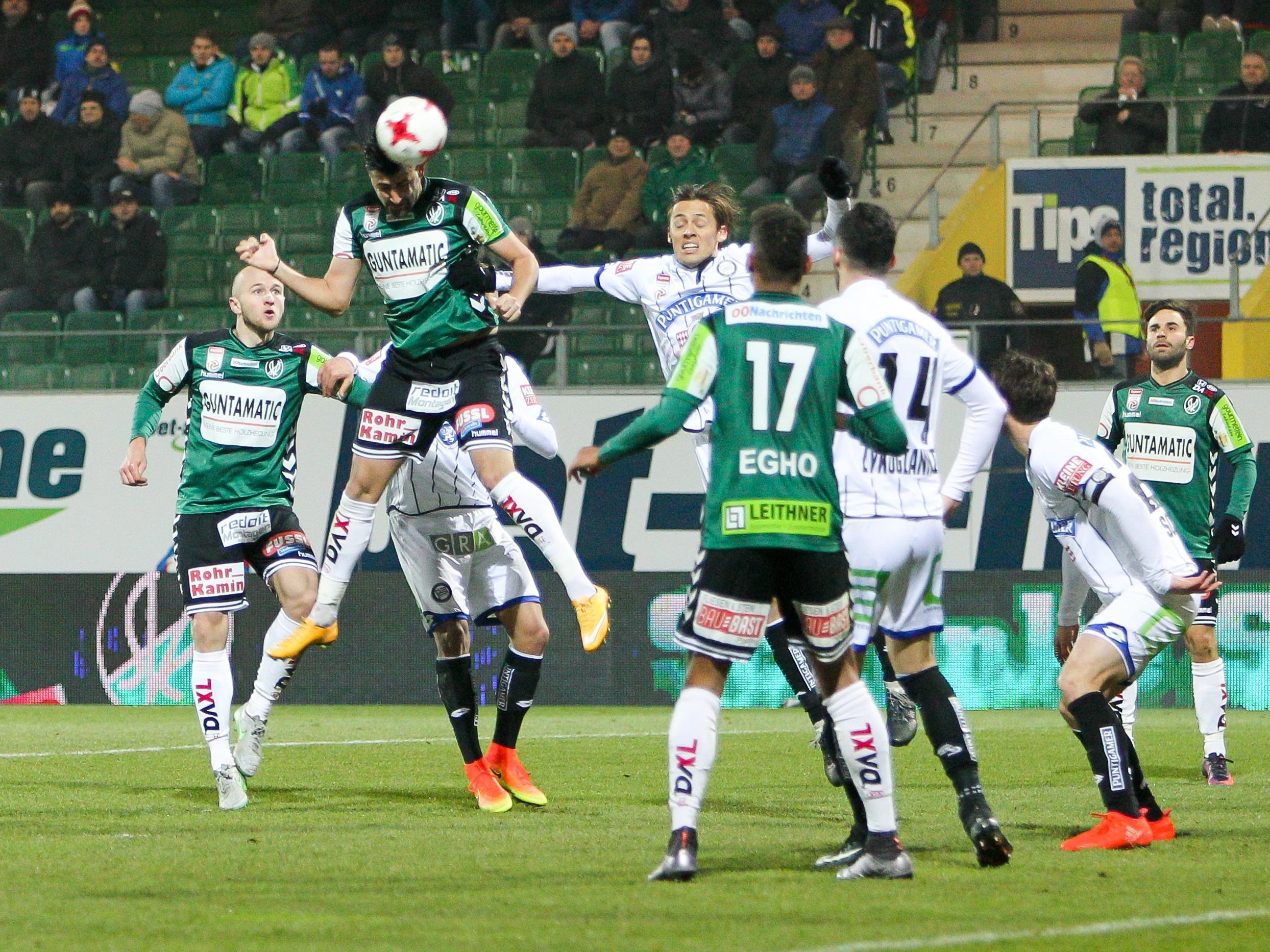 LIVE-Ticker zum Spiel SK Sturm Graz gegen SV Ried ab 18.30 Uhr.
