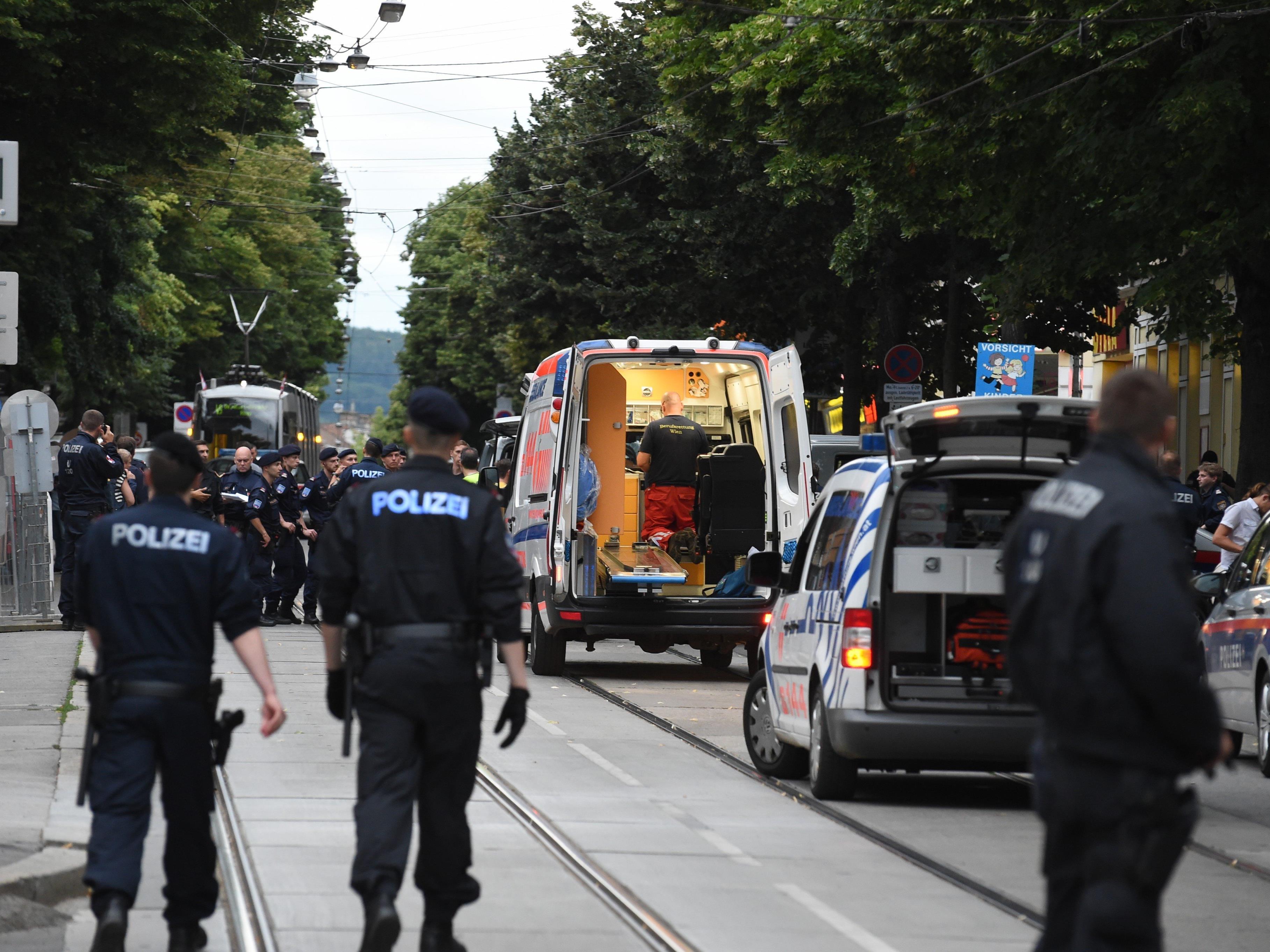 Bei dem Supermarkt-Überfall in Wien-Penzing wurde ein Polizist getötet.