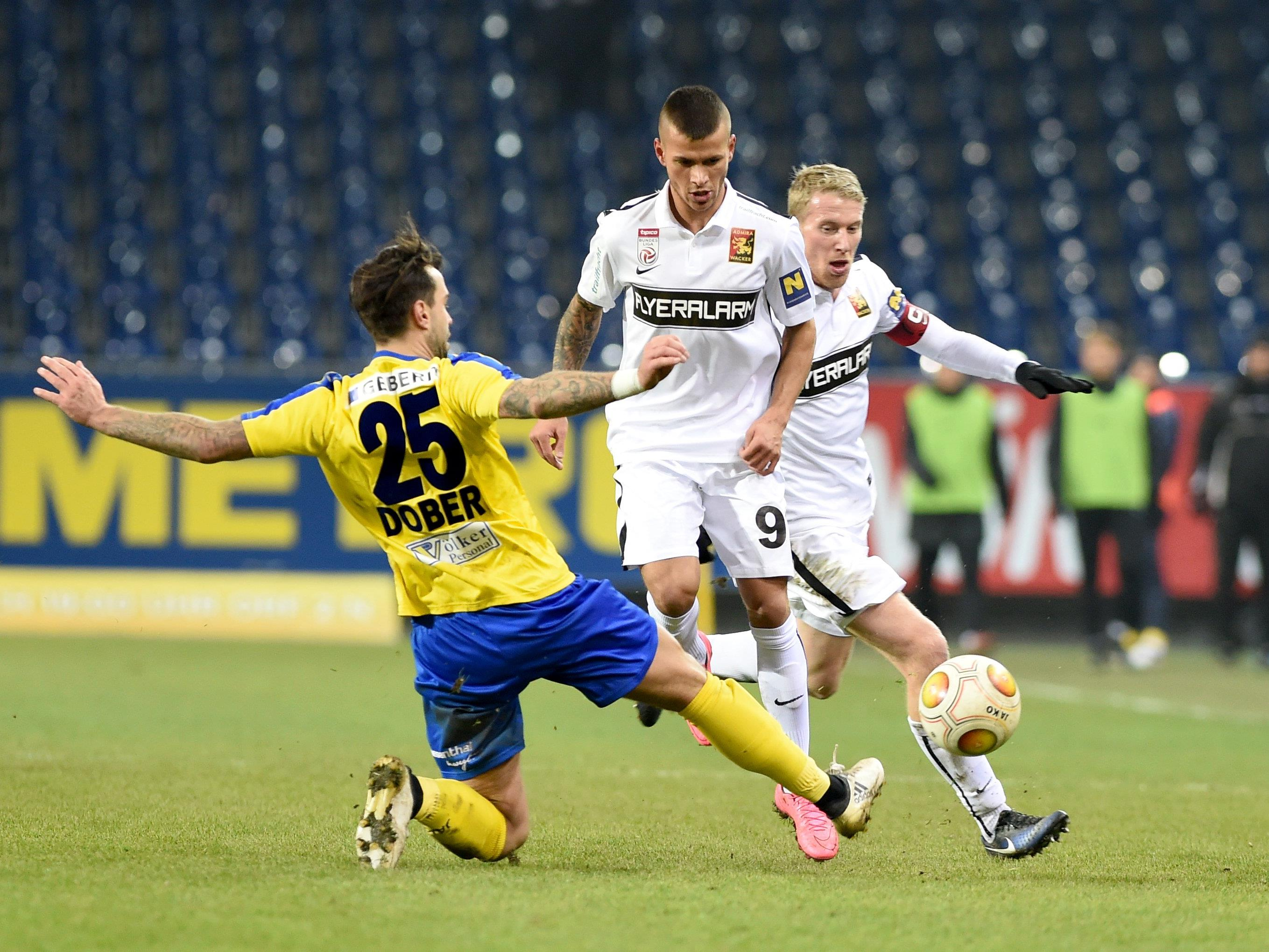 LIVE-Ticker zum Spiel FC Admira Wacker gegen SKN St. Pölten ab 18.30 Uhr.