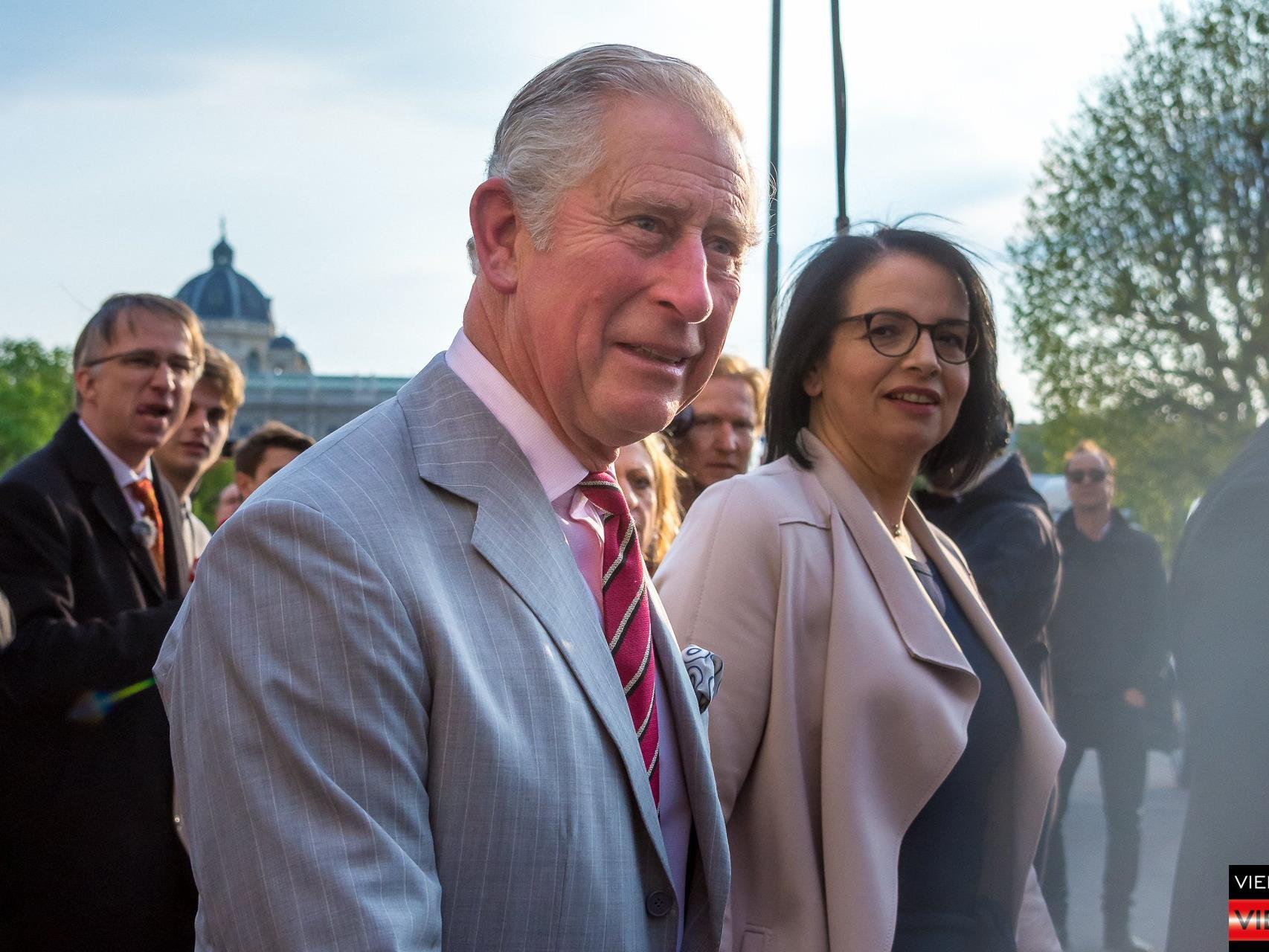 Thronfolger Prinz Charles und Ehefrau Camilla - 05.04.2017