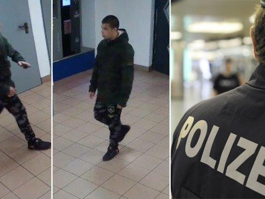 Die Polizei bitte um Hinweise zu diesem mutmaßlichen Räuber