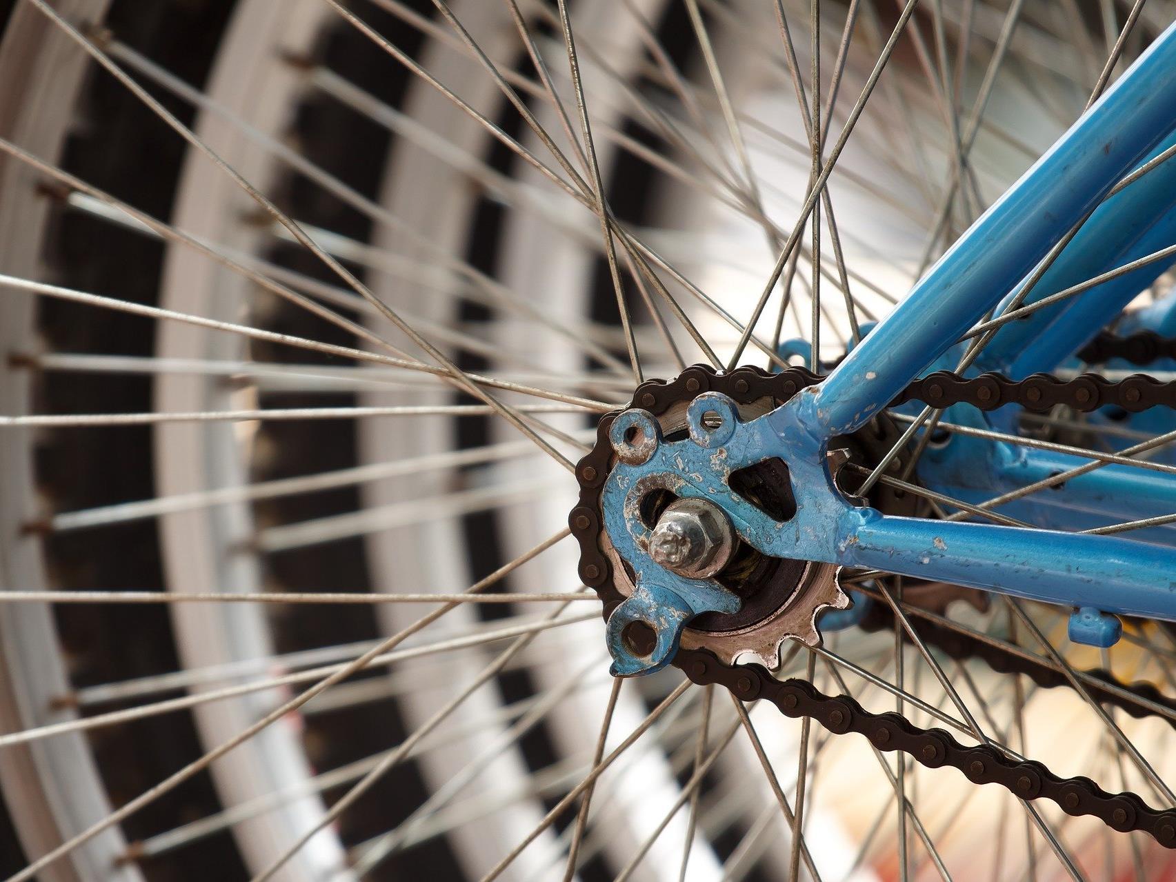 Zahlreiche Fahrräder sind ungenügend gesichtert