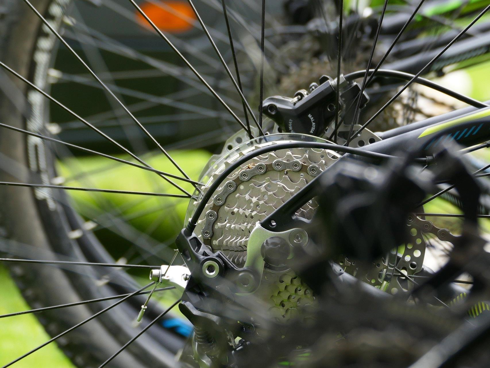 Großes Angebot an Rädern beim Fahrrad-Flohmarkt in Wien-Landstraße