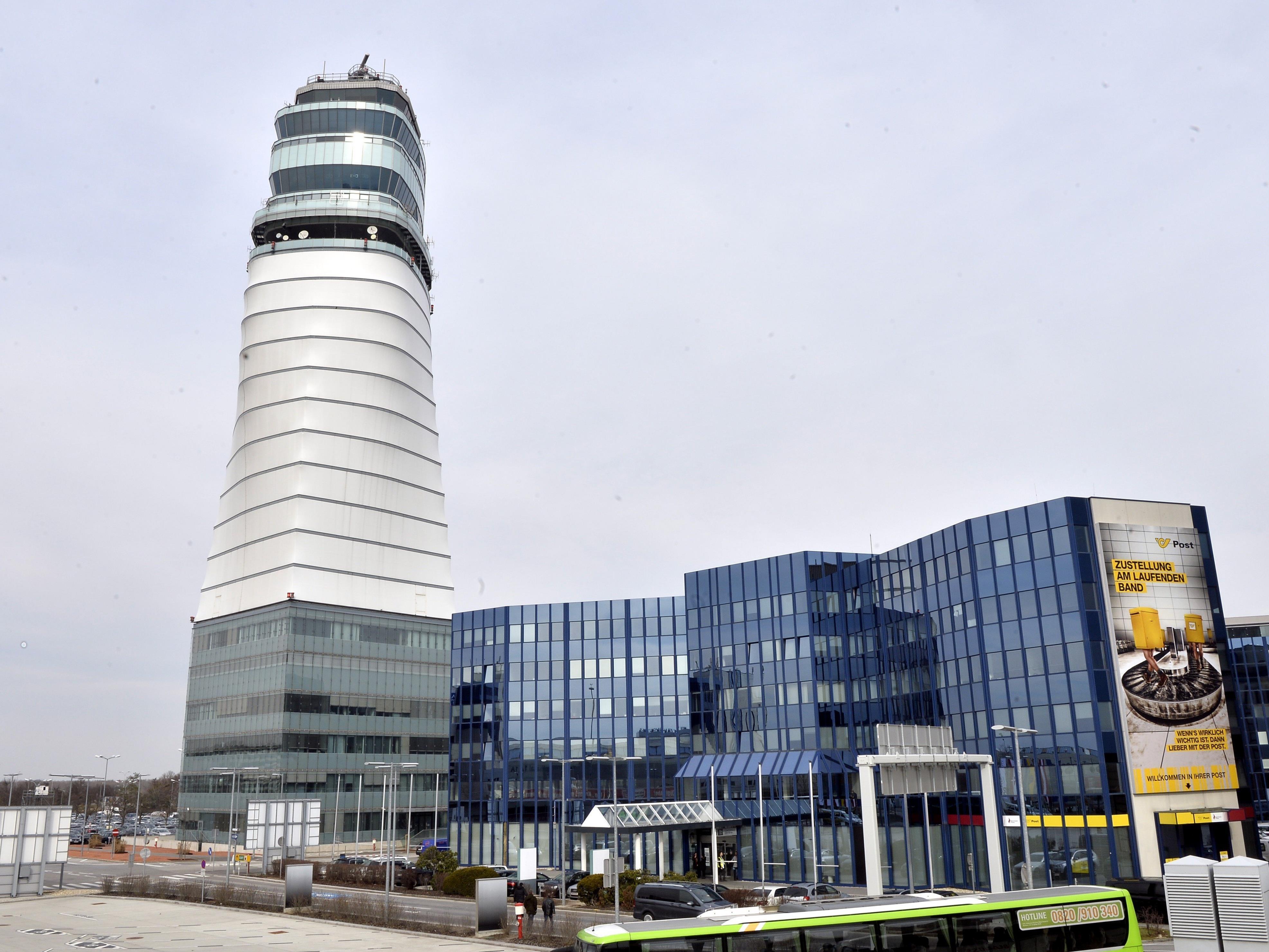 Der Bundeswehrsoldat hatte am Flughafen Wien eine geladene Waffe versteckt.