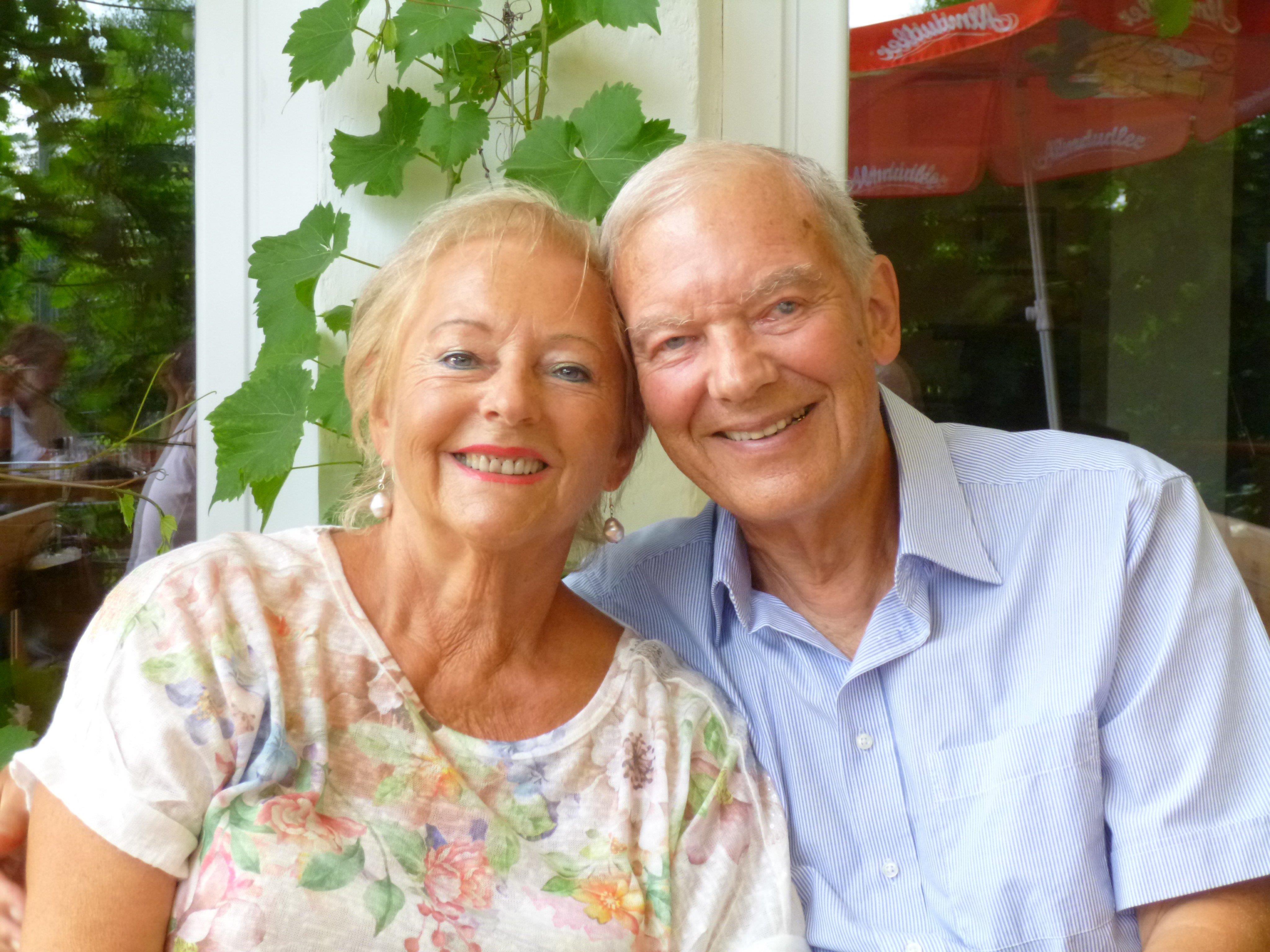 Glücklich und zufrieden blicken Hanny und Roman Gmeiner auf 50 Ehejahre zurück.