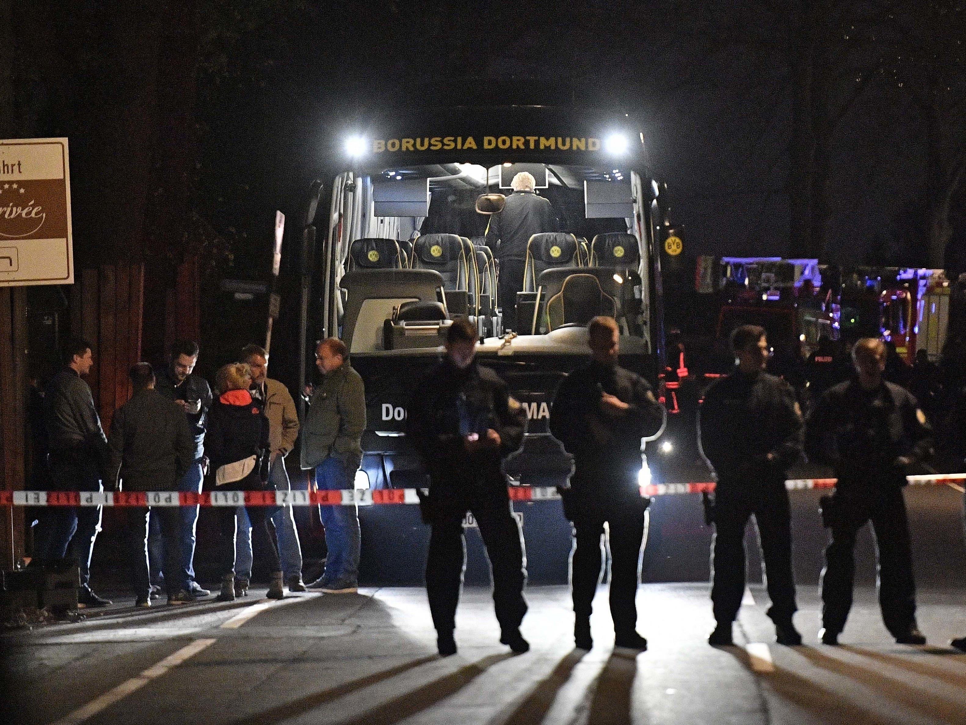 Festnahme nach Anschlag auf BVB-Bus.