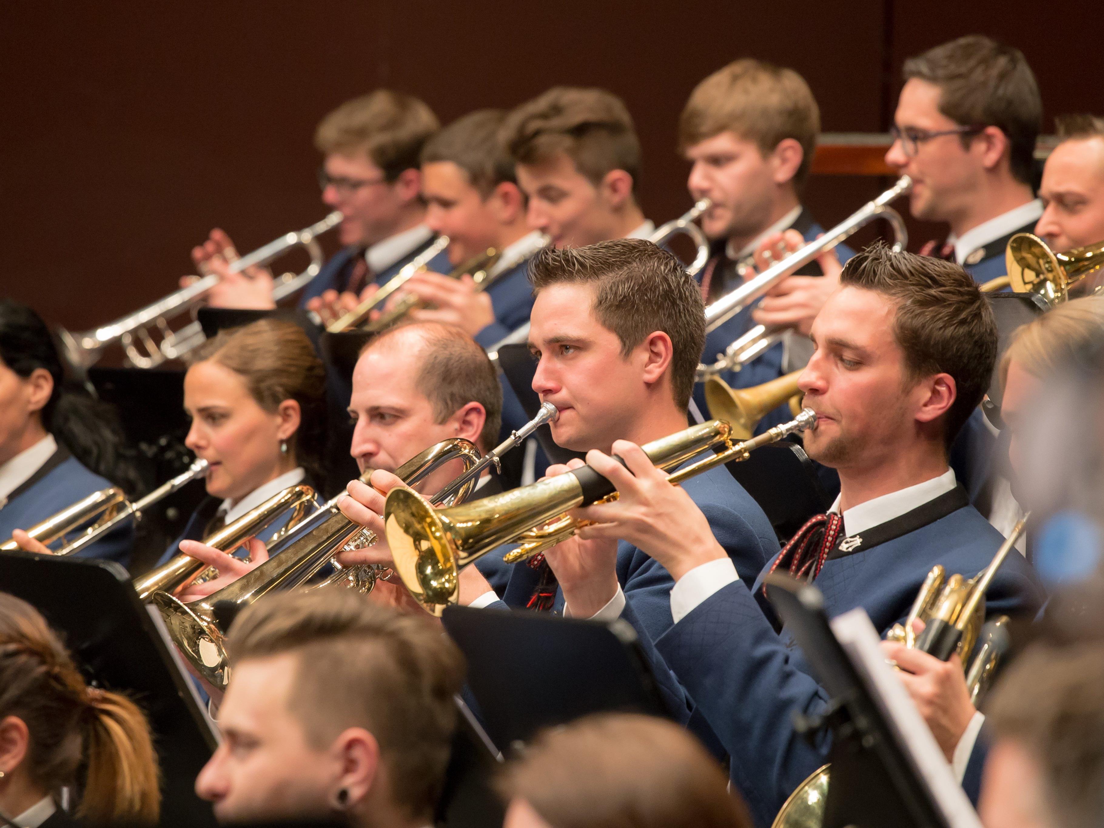 Der MV Rohrbach sorgte mit seinem Konzert wieder für einen musikalischen Höhepunkt in Dornbirn.