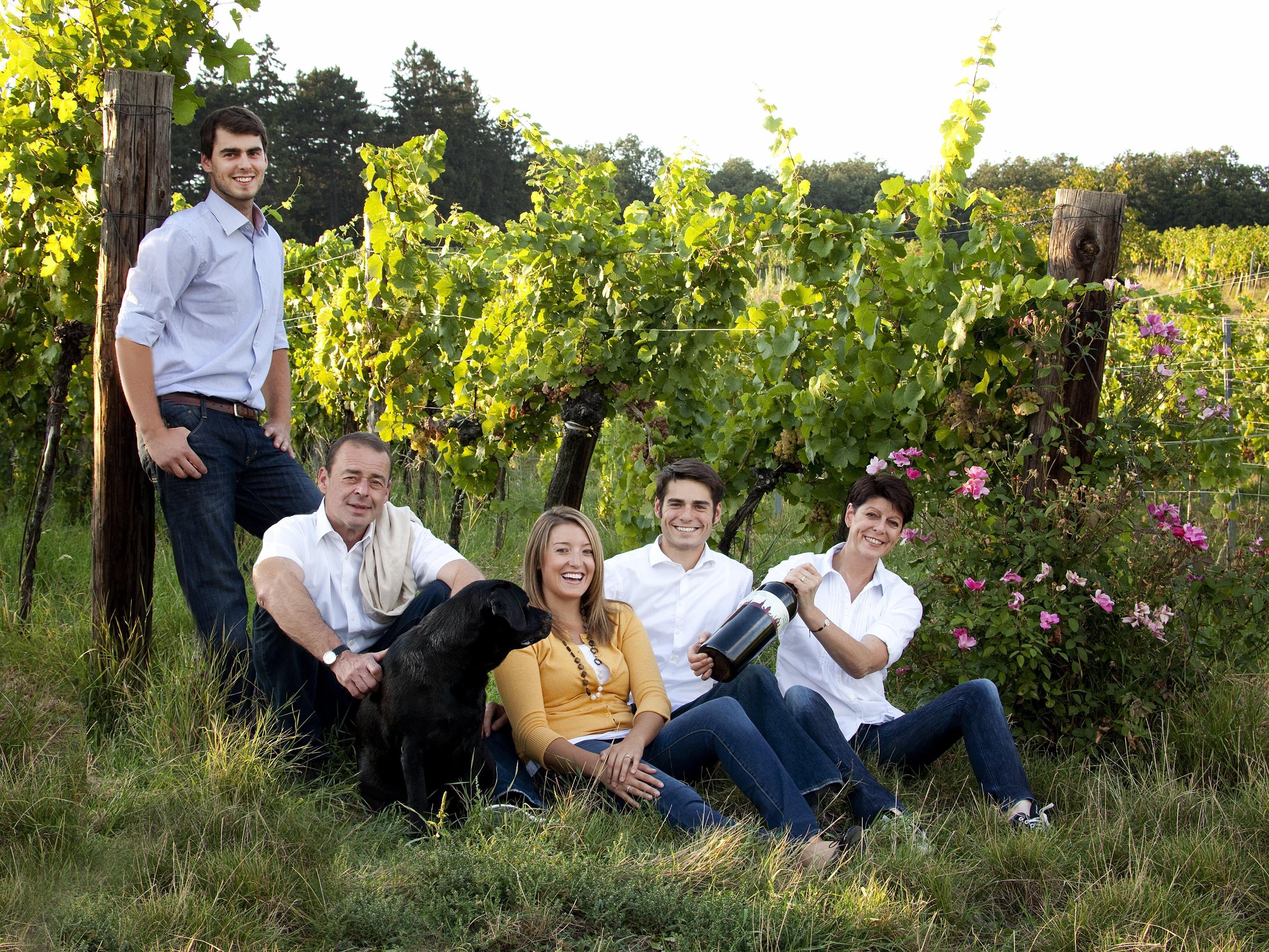 Die Winzerfamilie Steinklammer setzt auf Wiener Wientradition.