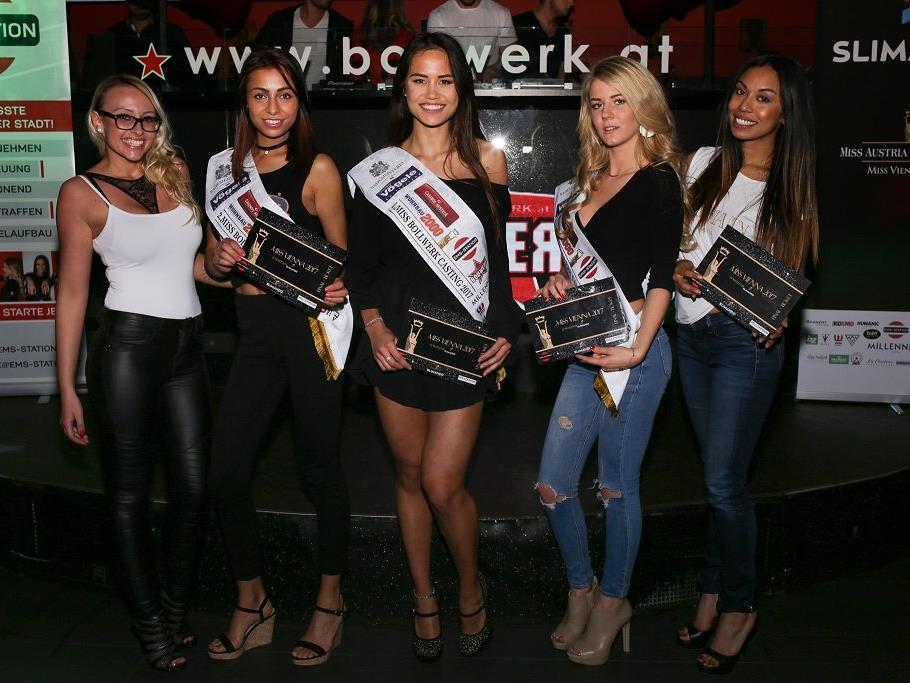 Die Gewinner des dritten Miss Vienna 2017-Castings