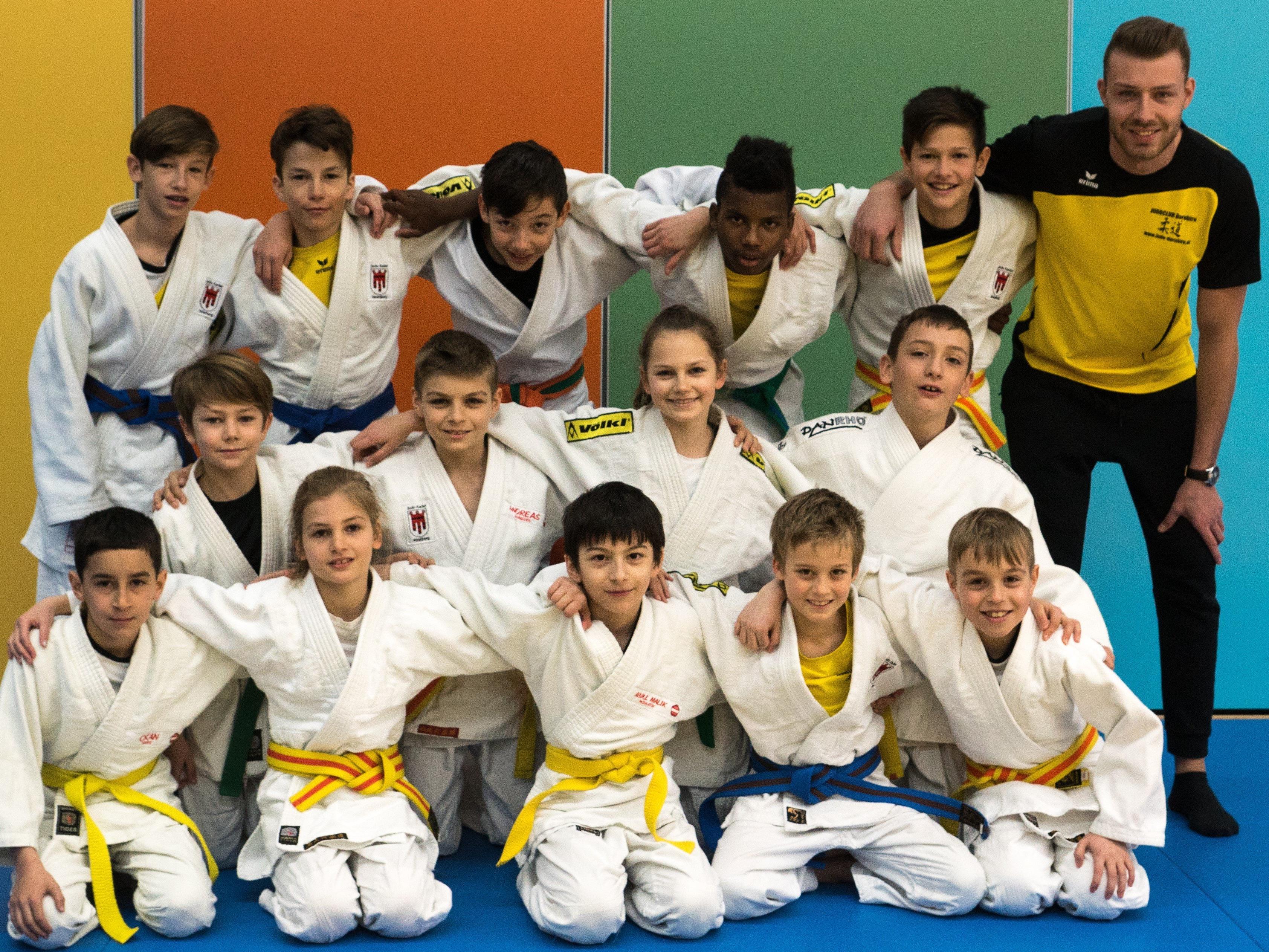 Der Judo-Nachwuchs aus Dornbirn hatte in den vergangenen Tagen ausreichend Grund zum Jubeln.