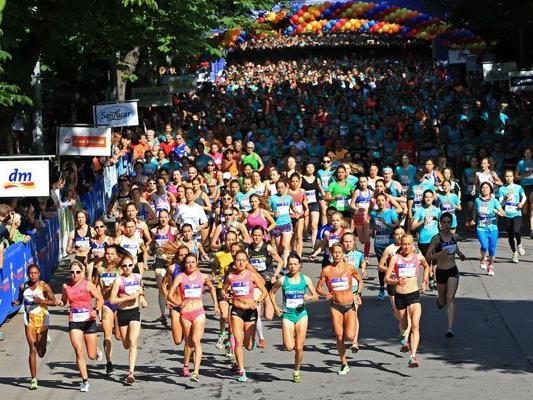 35.000 Teilnehmerinnen werden bei den Bewerben zum Österreichischen Frauenlauf dabei sein.