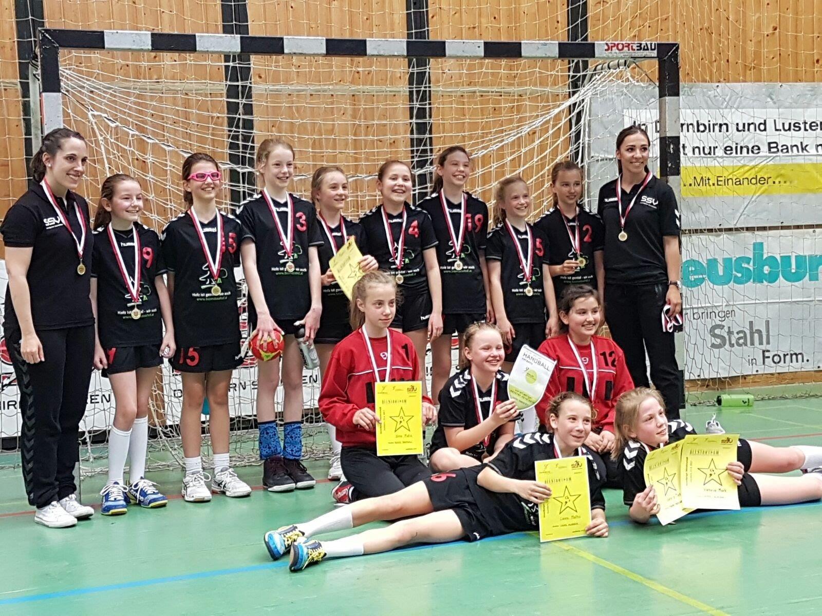 Auch die U11 des SSV Schoren darf sich nun Landesmeister im Handball nennen.