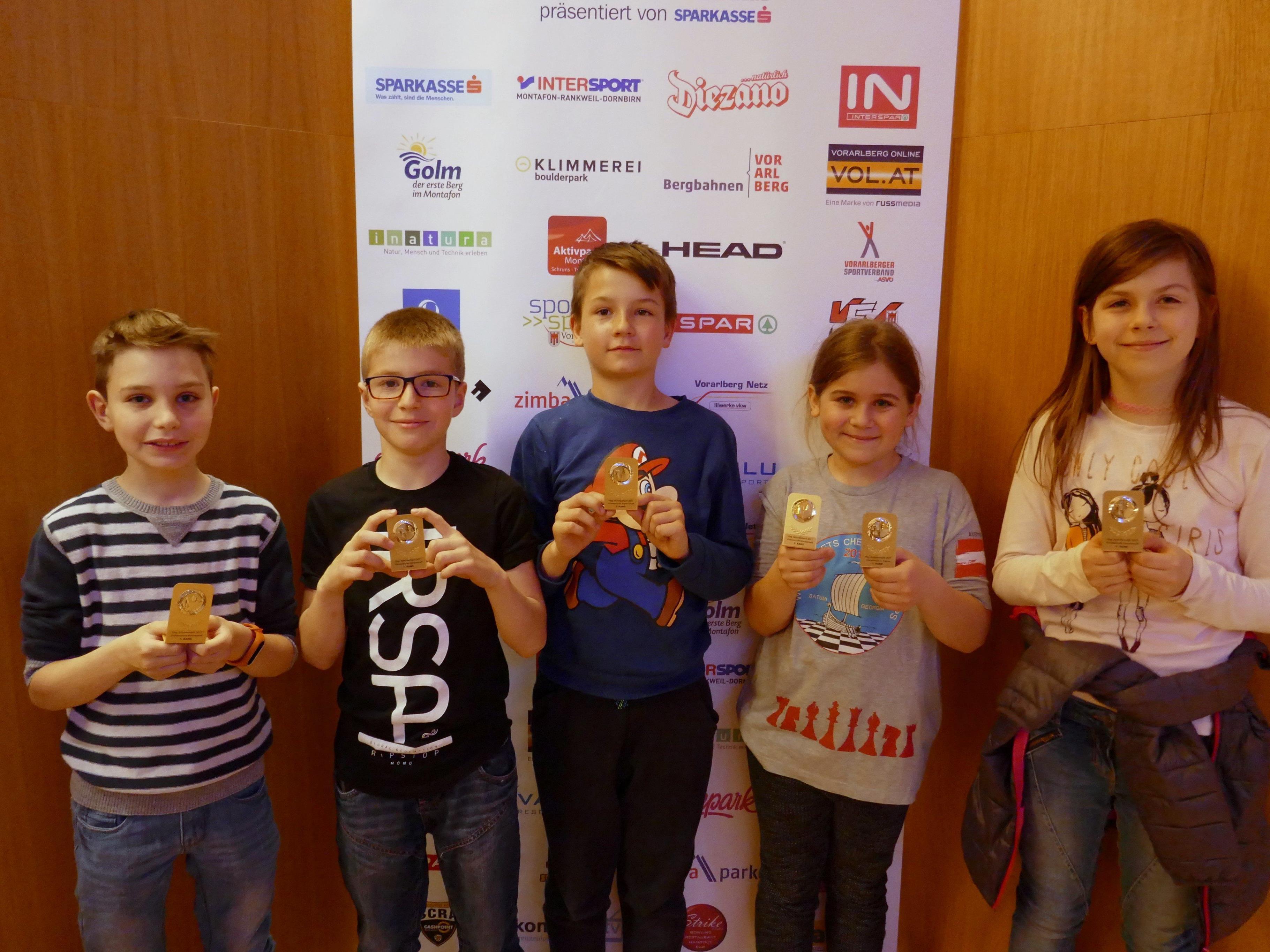 VS Dornbirn Rohrbach wurde Landessieger im Schulschach