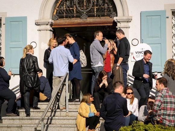 Am Samstag Nachmittag waren in Dornbirn die Wein-Kenner und -Liebhaber unterwegs.