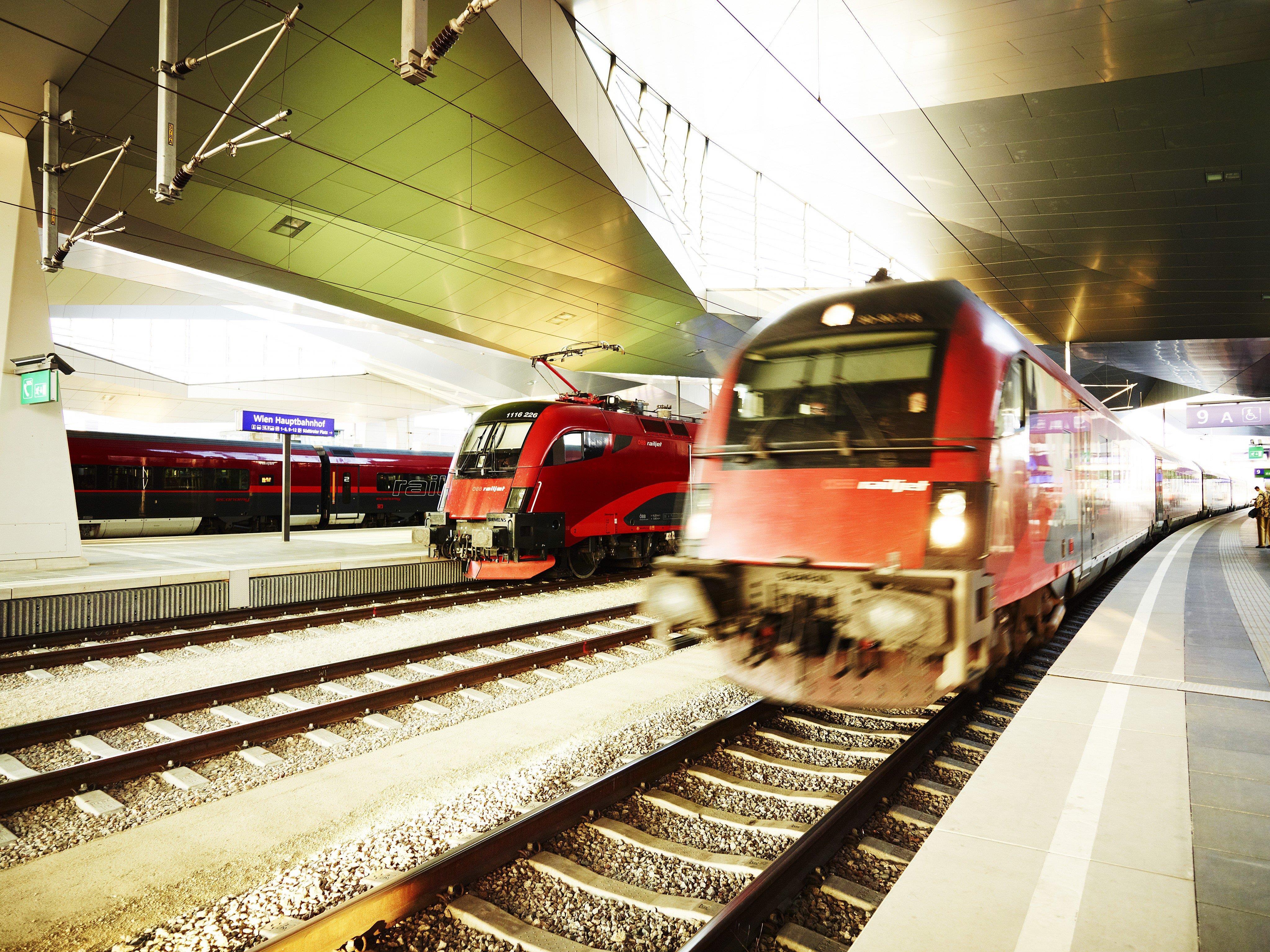 Eine Chronologie von Zwischenfällen im Wiener Bahnverkehr