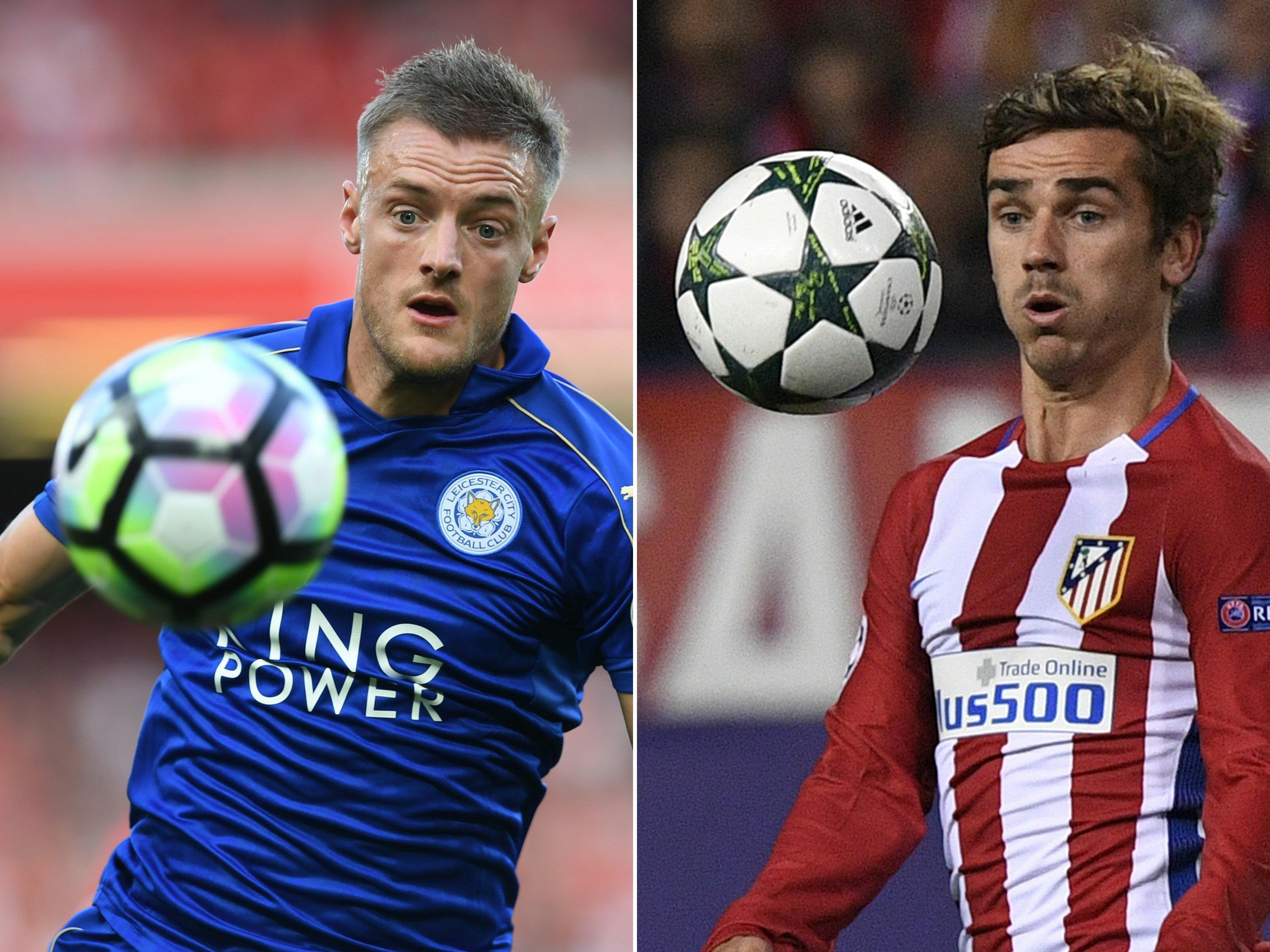 Atlético Madrid empfängt den amtierenden englischen Meister Leicester City im Viertelfinal-Hinspiel der Champions League.
