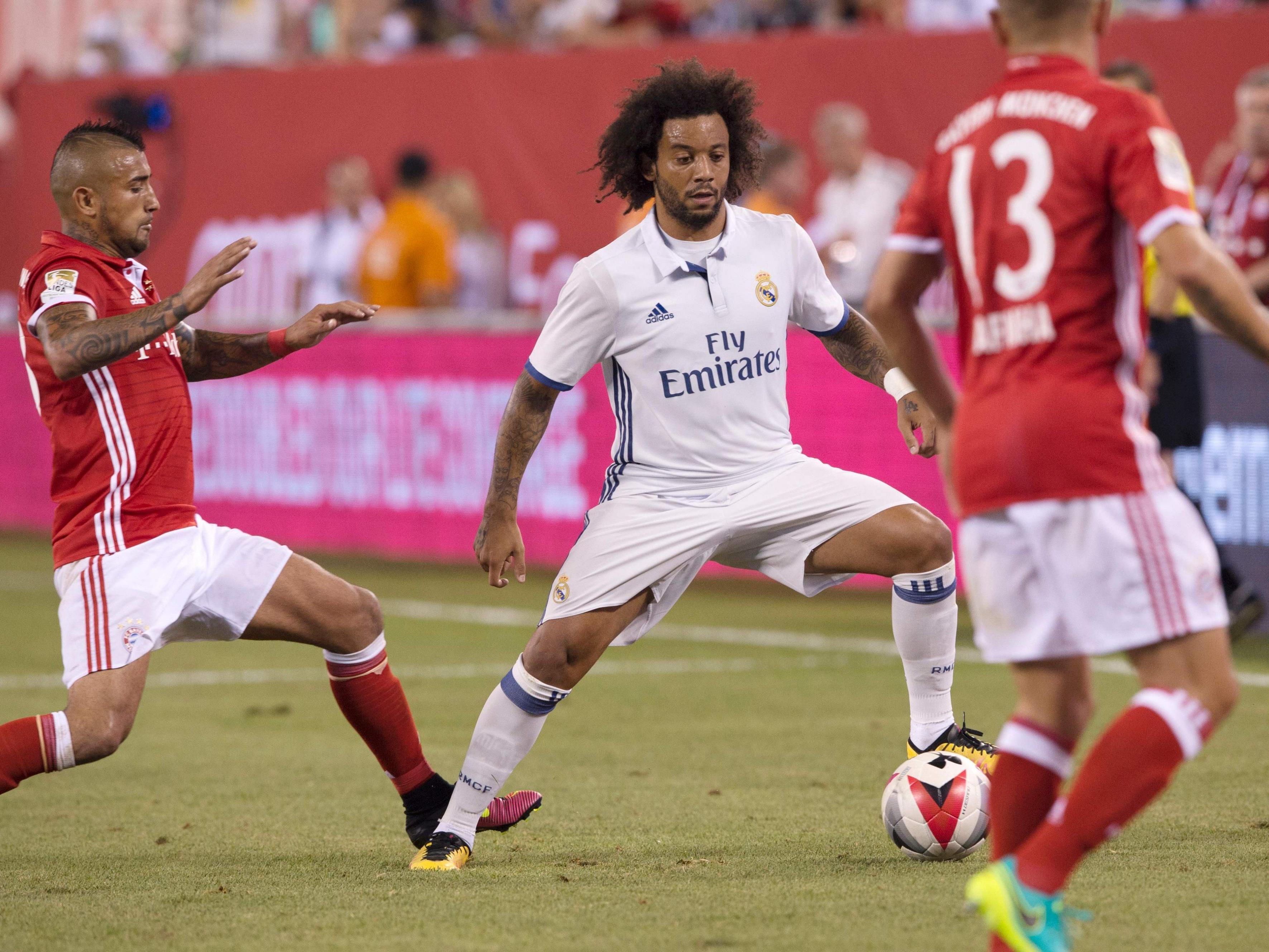 Der FC Bayern München empfängt Real Madrid im Viertelfinal-Hinspiel der Champions League.