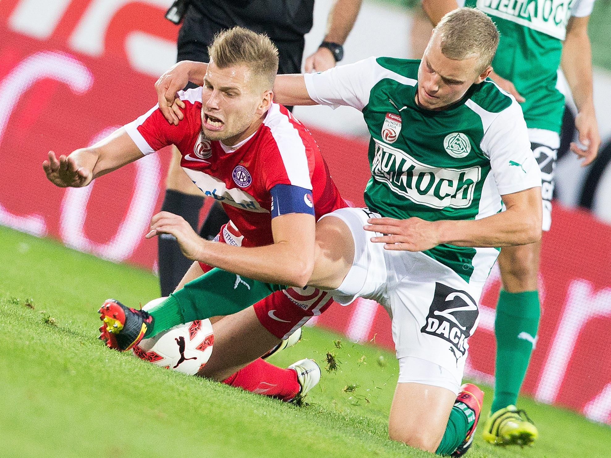LIVE-Ticker zum Spiel SV Mattersburg gegen Austria Wien ab 15.00 Uhr.