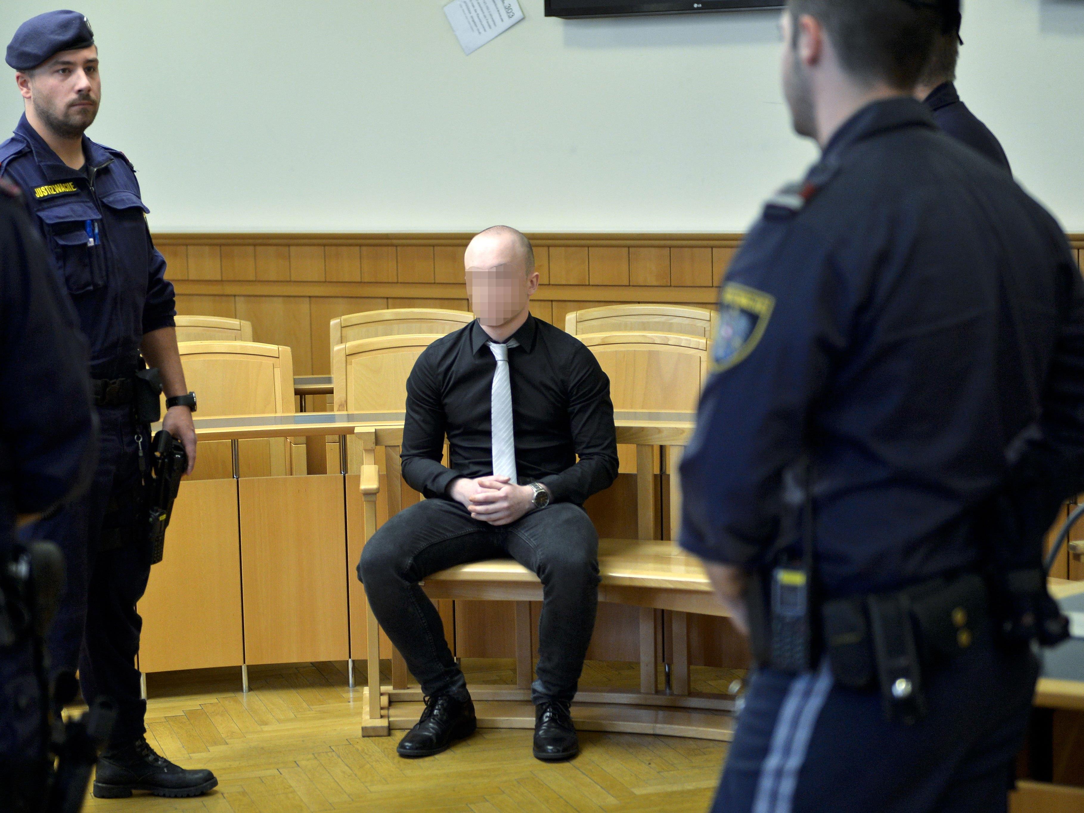 Beim Prozess im Straflandesgericht Wien