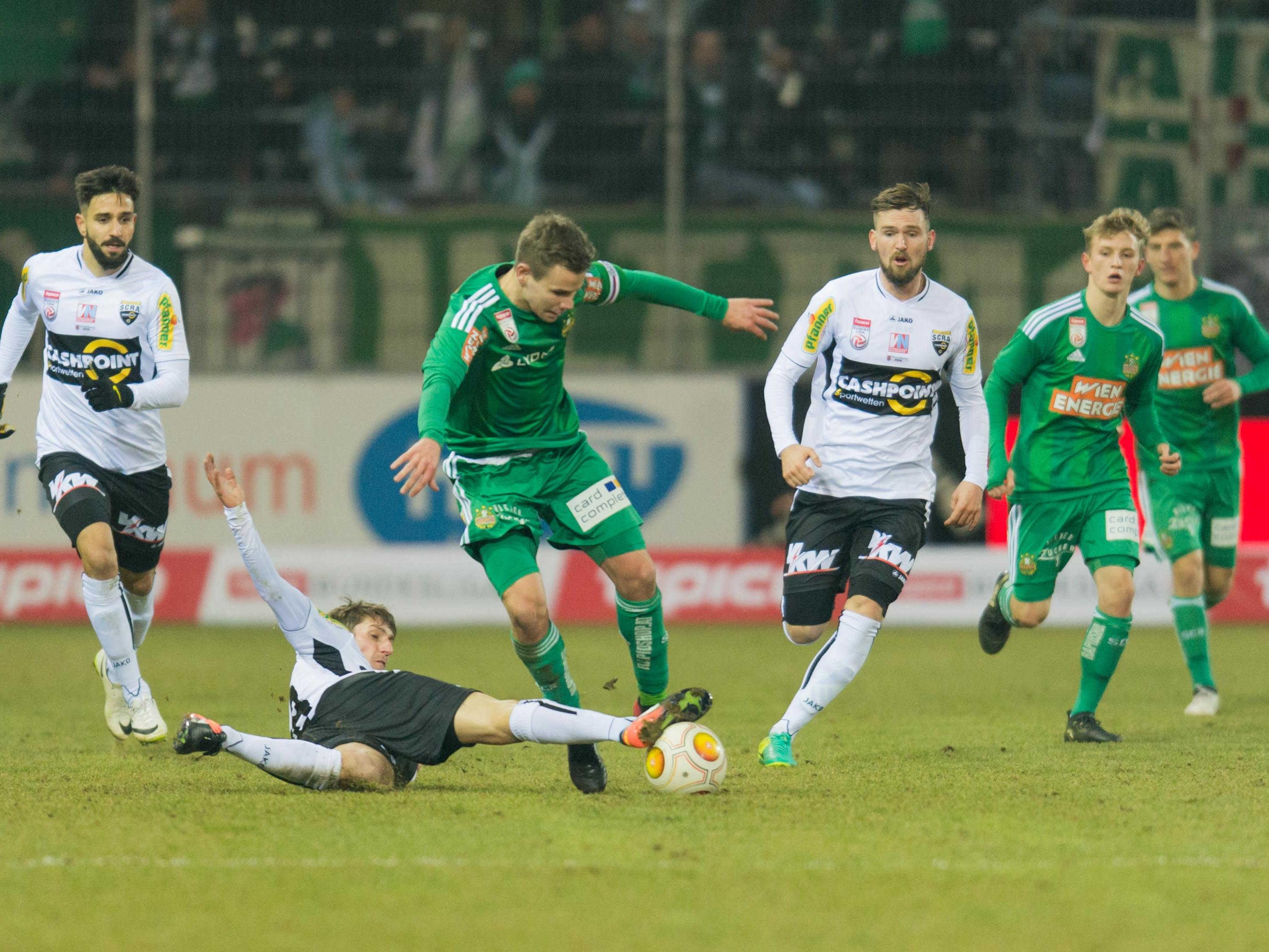 Rapid empfängt im ersten Spiel nach der Ära Damir Canadi den SCR Altach im Allianz-Stadion.