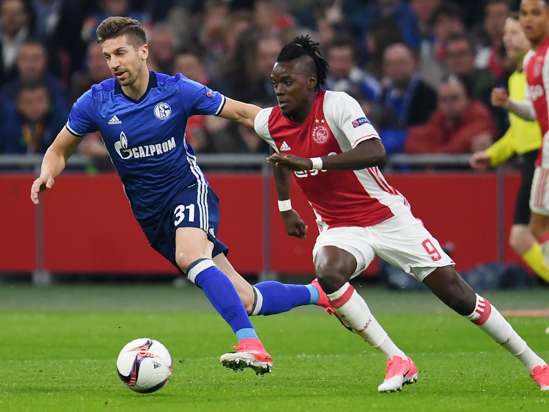 Schalke 04 trifft im Rückspiel des Europa-League-Viertelfinales in Gelsenkirchen auf Ajax Amsterdam.