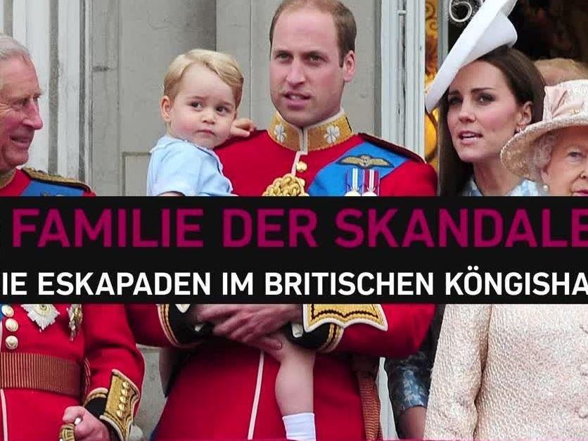 """Die Queen war nicht """"amused""""."""