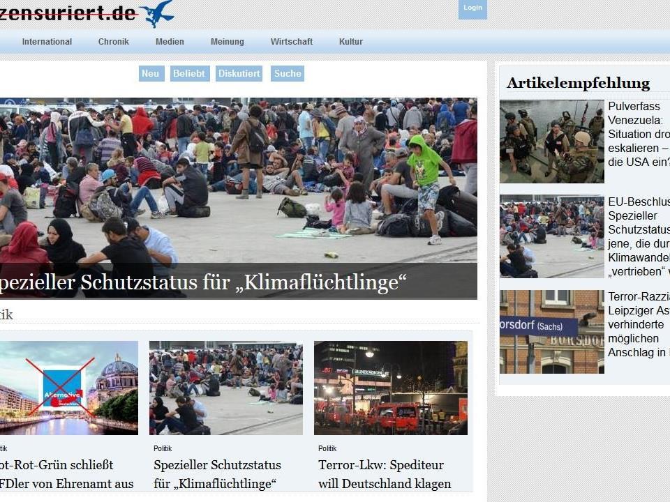 Seit April im Netz: unzensuriert.de