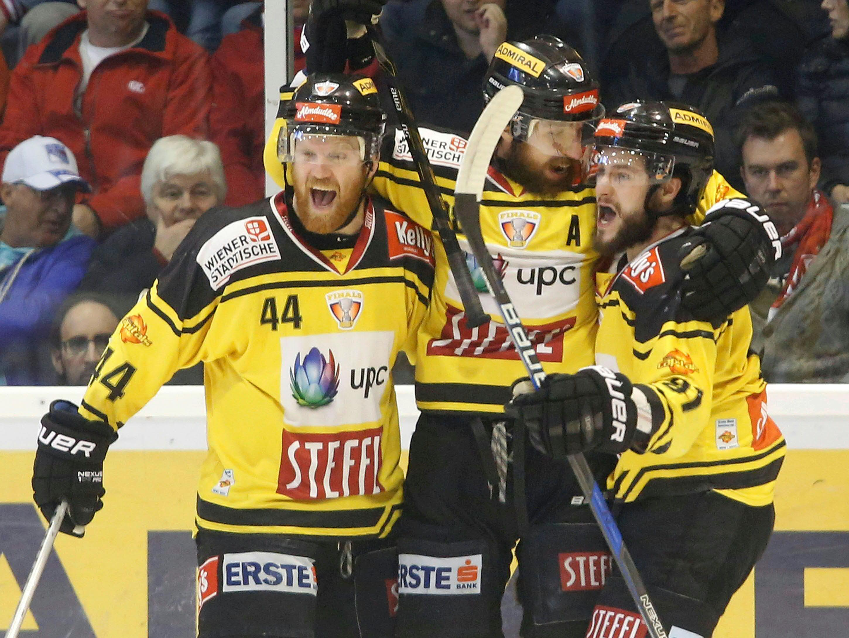 Die Vienna Capitals krönten sich im 4. Finalspiel zum Meister der EBEL.