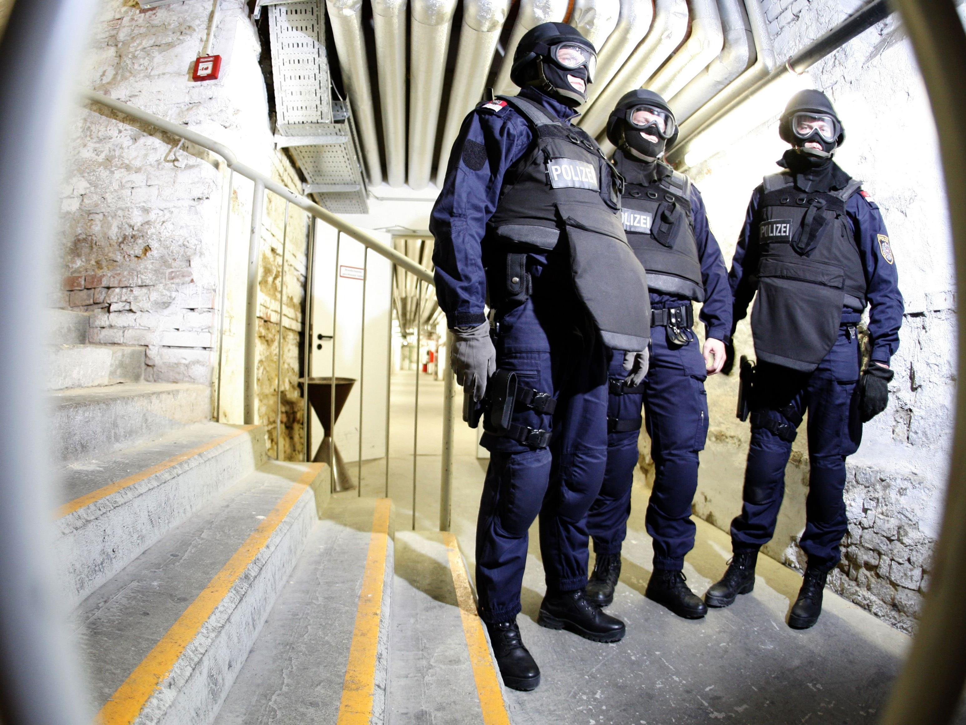 Die Vorfälle in Liesing führten zu einer Festnahme durch die WEGA