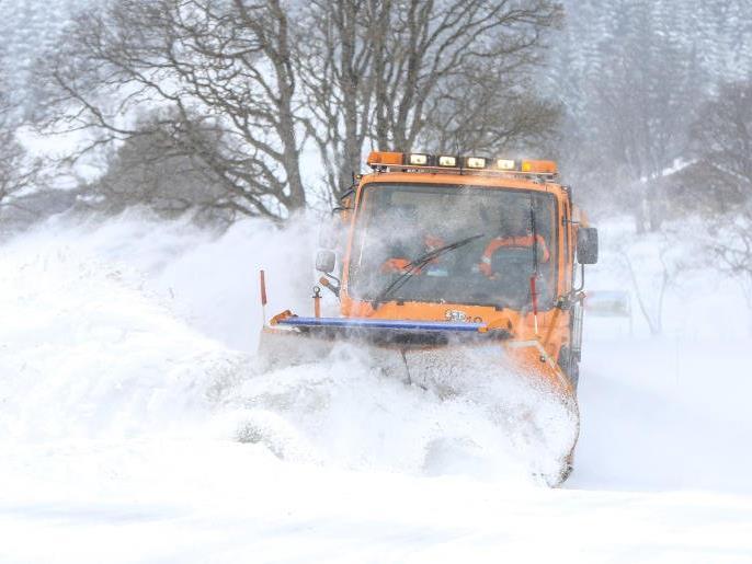 Wintereinbruch Angespannte Verkehrssituation Im Großraum Wien