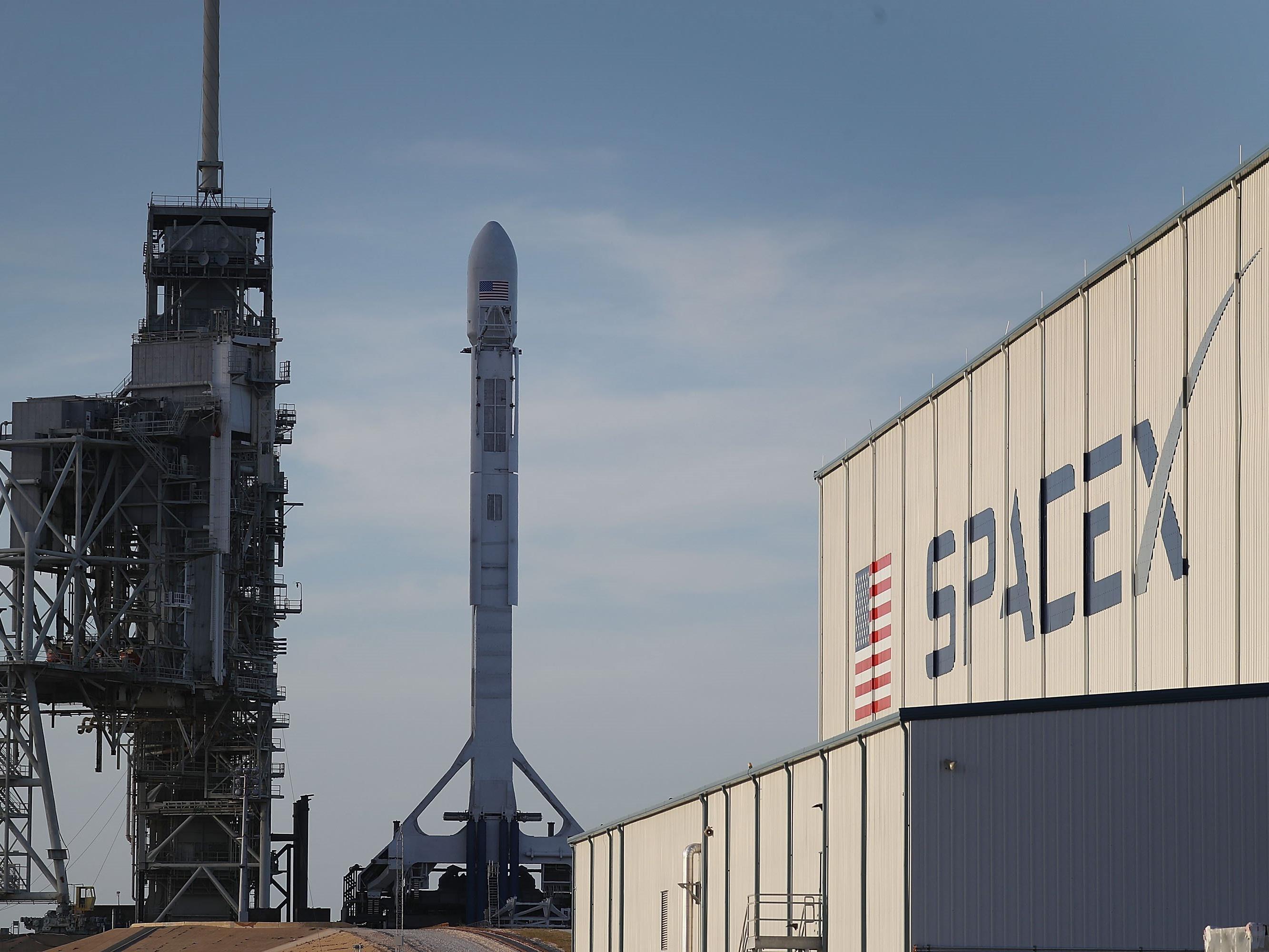 SpaceX will 2020 mit der Mars-Mission beginnen.