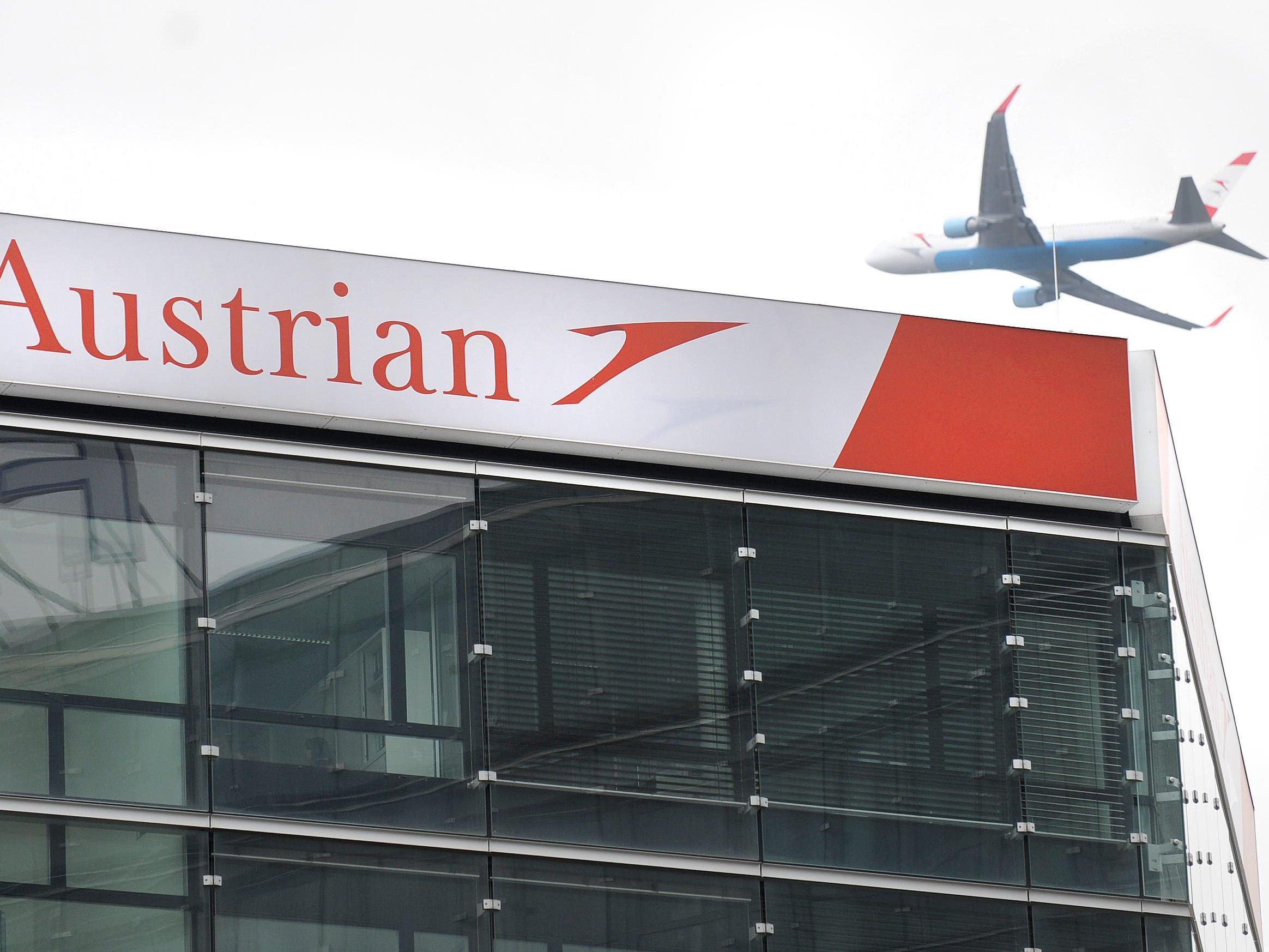 Ein Betrunkener randalierte während eines AUA-Flugs von Washington nach Wien