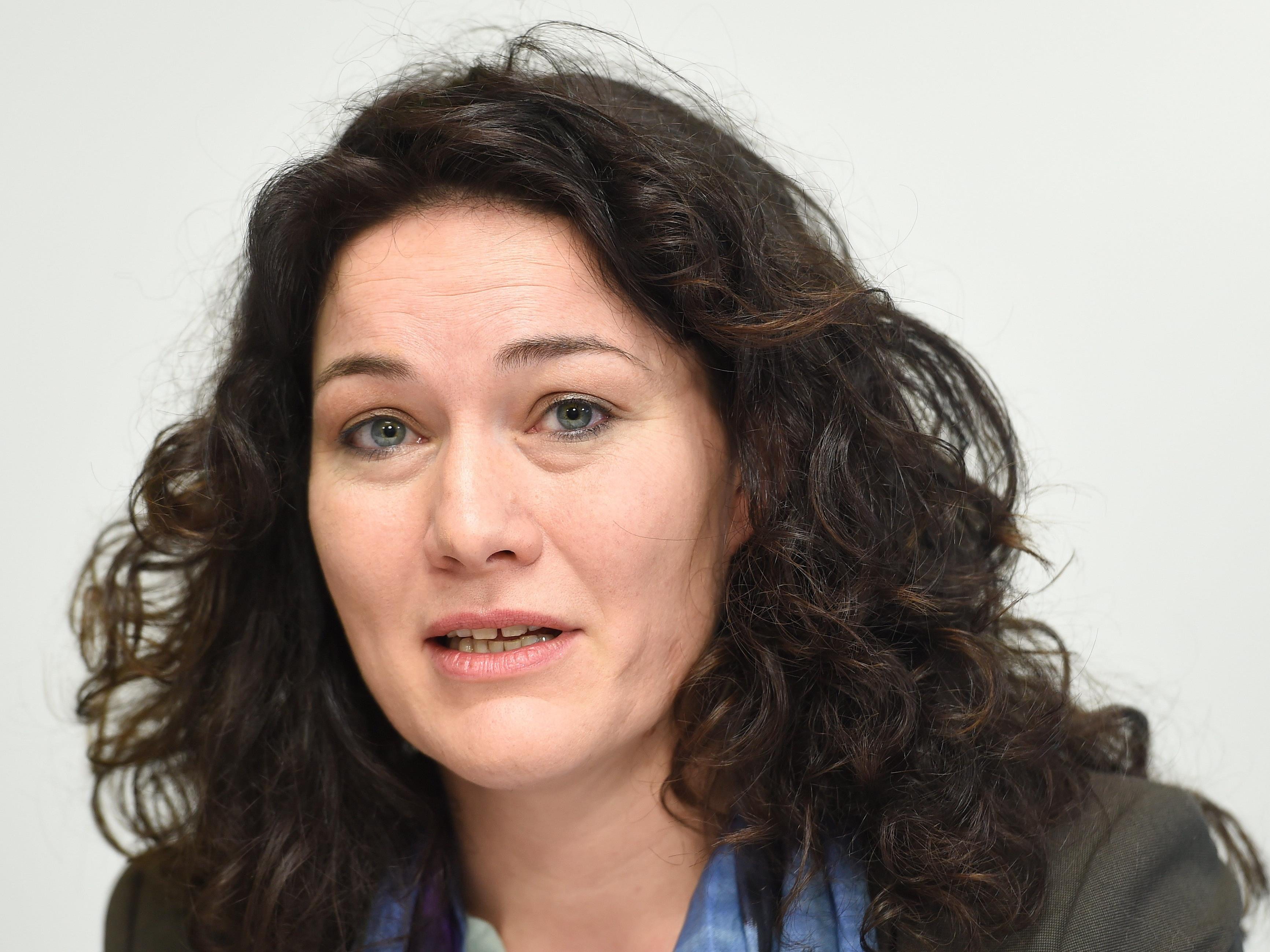 Ingrid Felipe, die neue Bundessprecherin der Grünen.