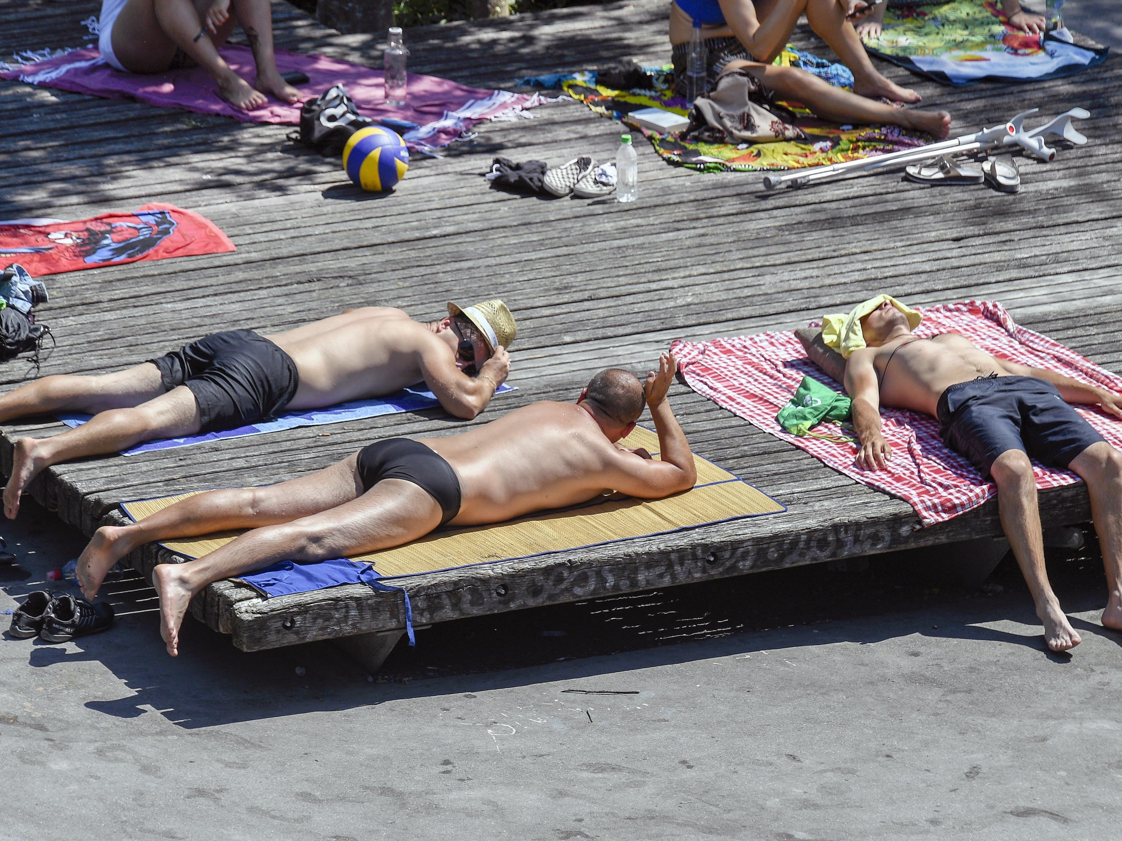 Am Dienstag war der heißeste Tag des Jahres 2017.