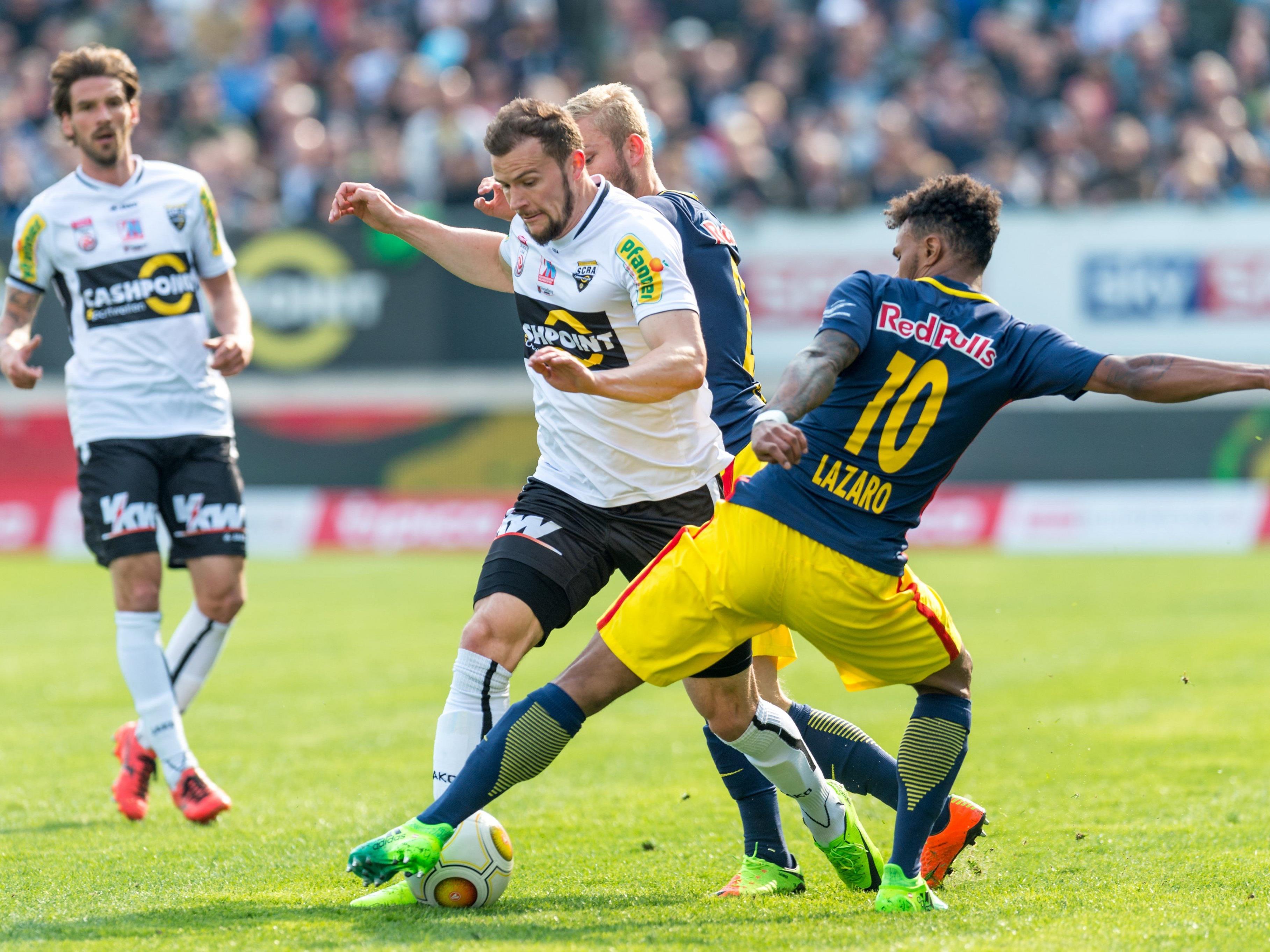 LIVE-Ticker zum Spiel Red Bull Salzburg gegen SCR Altach ab 16.30 Uhr.